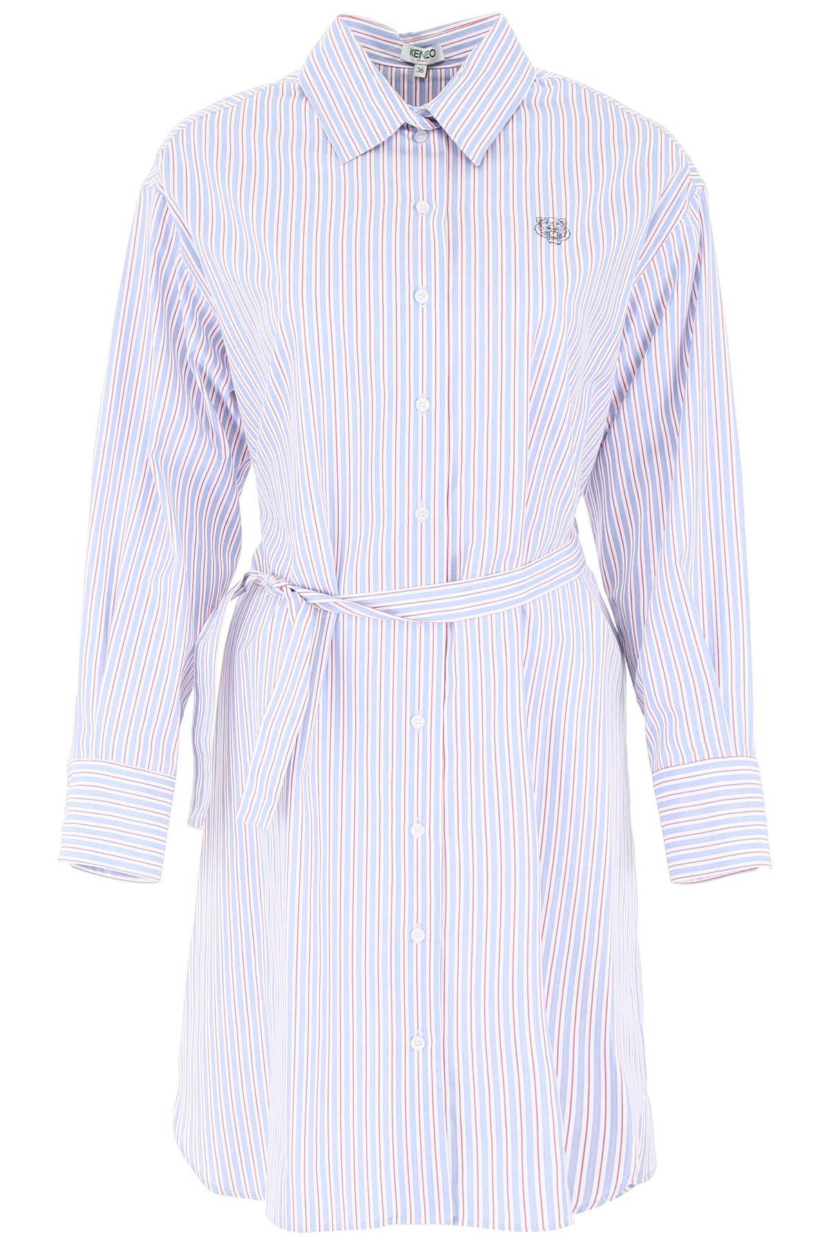 Kenzo Striped Shirt Dress