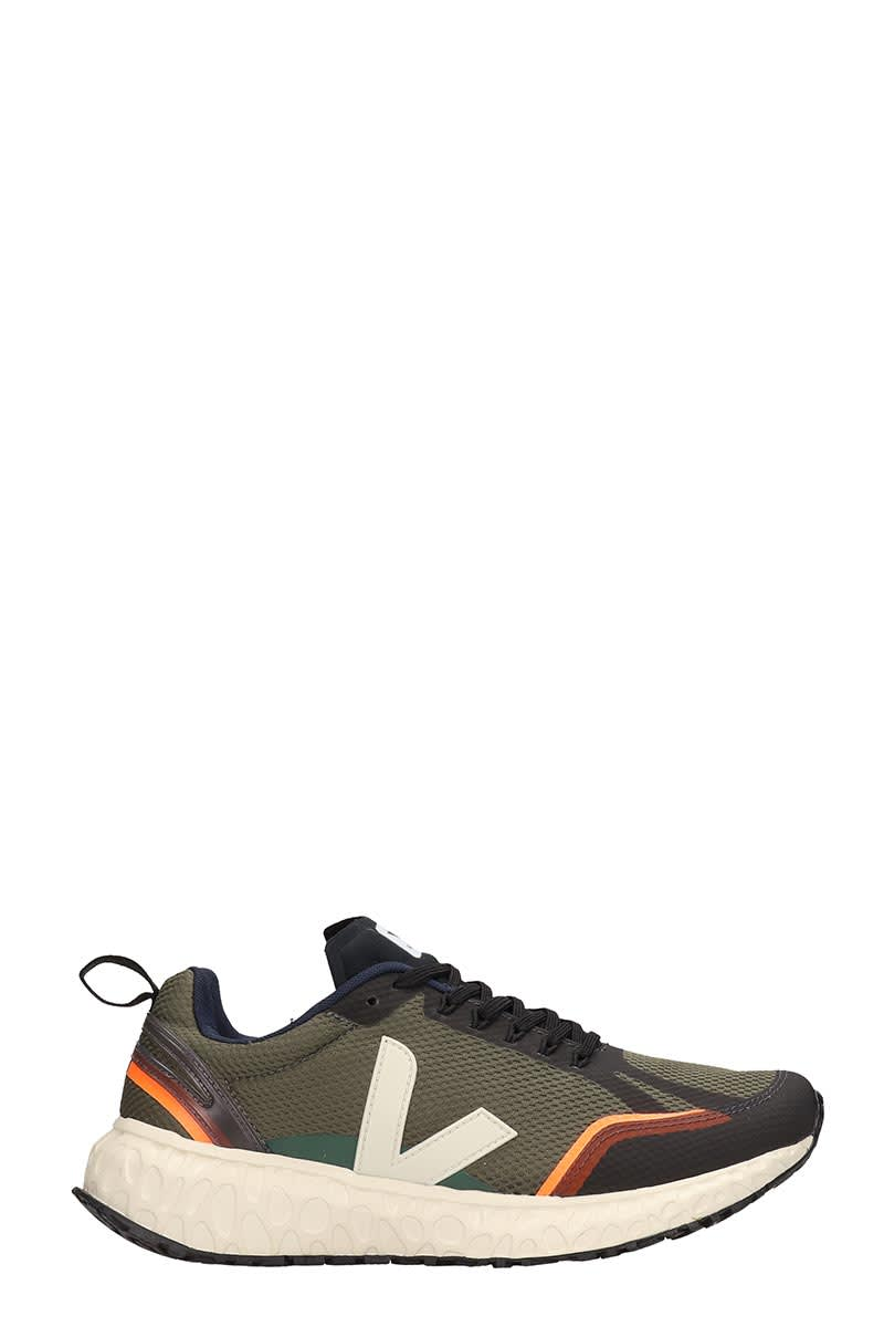 Veja Condor Sneakers In Green Tech/synthetic