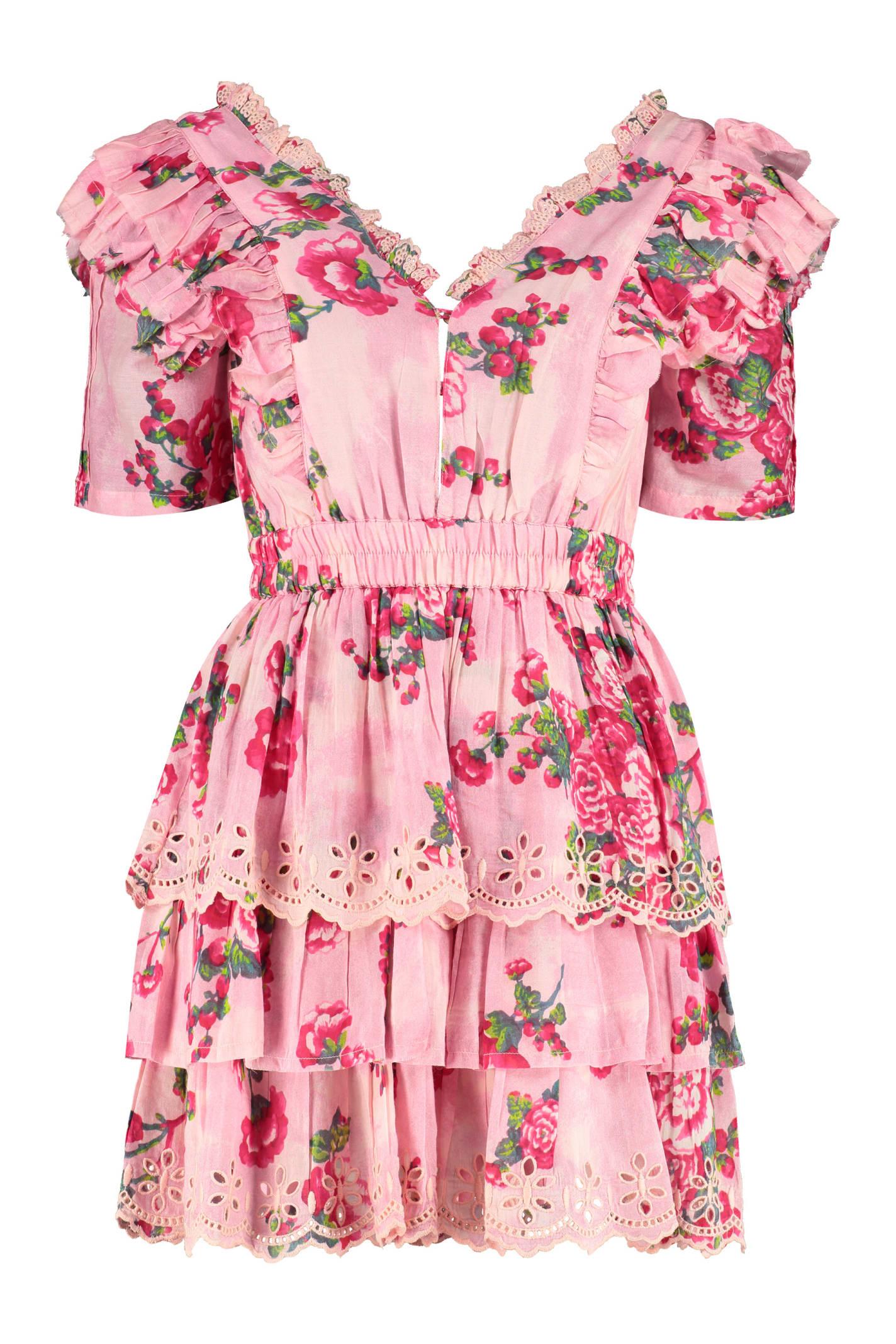 Buy LoveShackFancy Aldina Dress With Floral Print online, shop LoveShackFancy with free shipping
