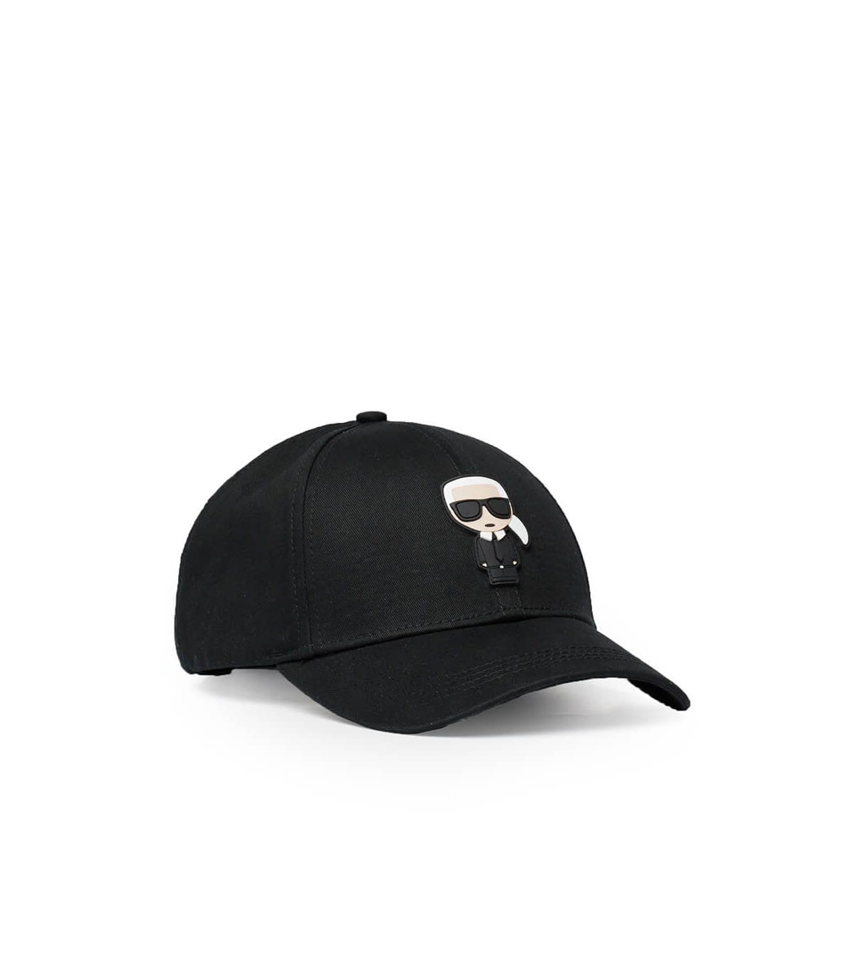 Karl Lagerfeld Accessories BLACK K/IKONIK BASEBALL CAP