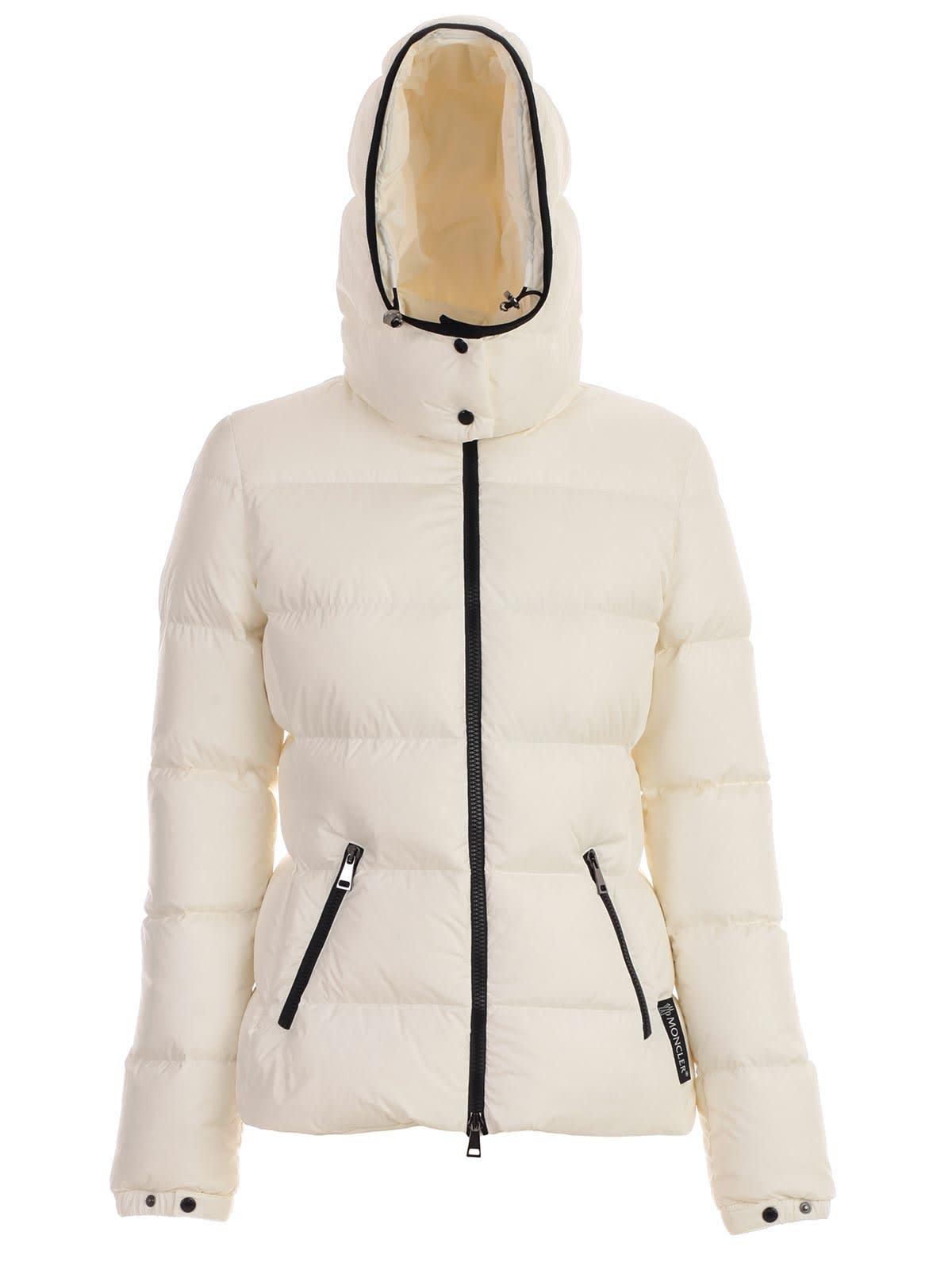 Moncler Don Padded Jacket W/hood And Belt