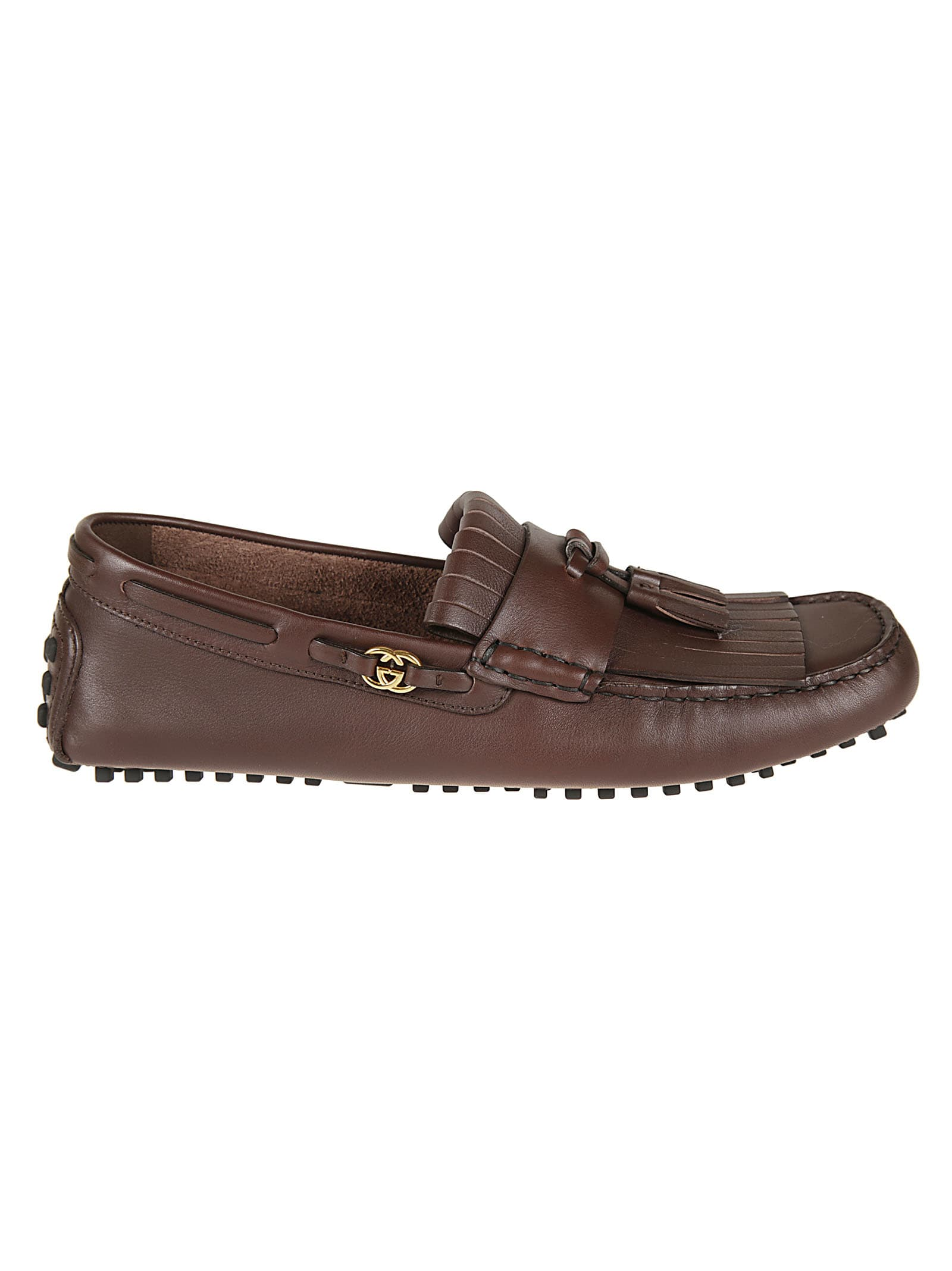 Gucci Tassel Detail Loafers