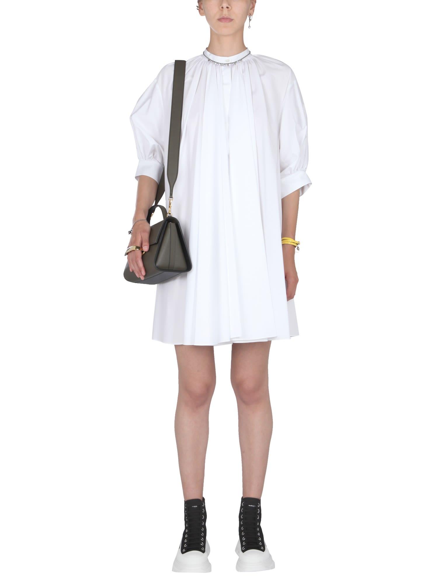 Buy Alexander McQueen Mini Trapeze Dress online, shop Alexander McQueen with free shipping
