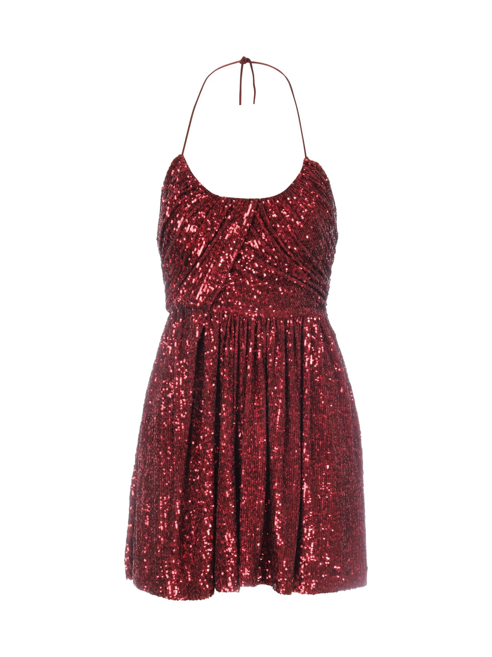 Saint Laurent Draped Dress
