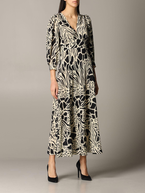 Buy Alberta Ferretti Dress Alberta Ferretti Patterned Dress online, shop Alberta Ferretti with free shipping