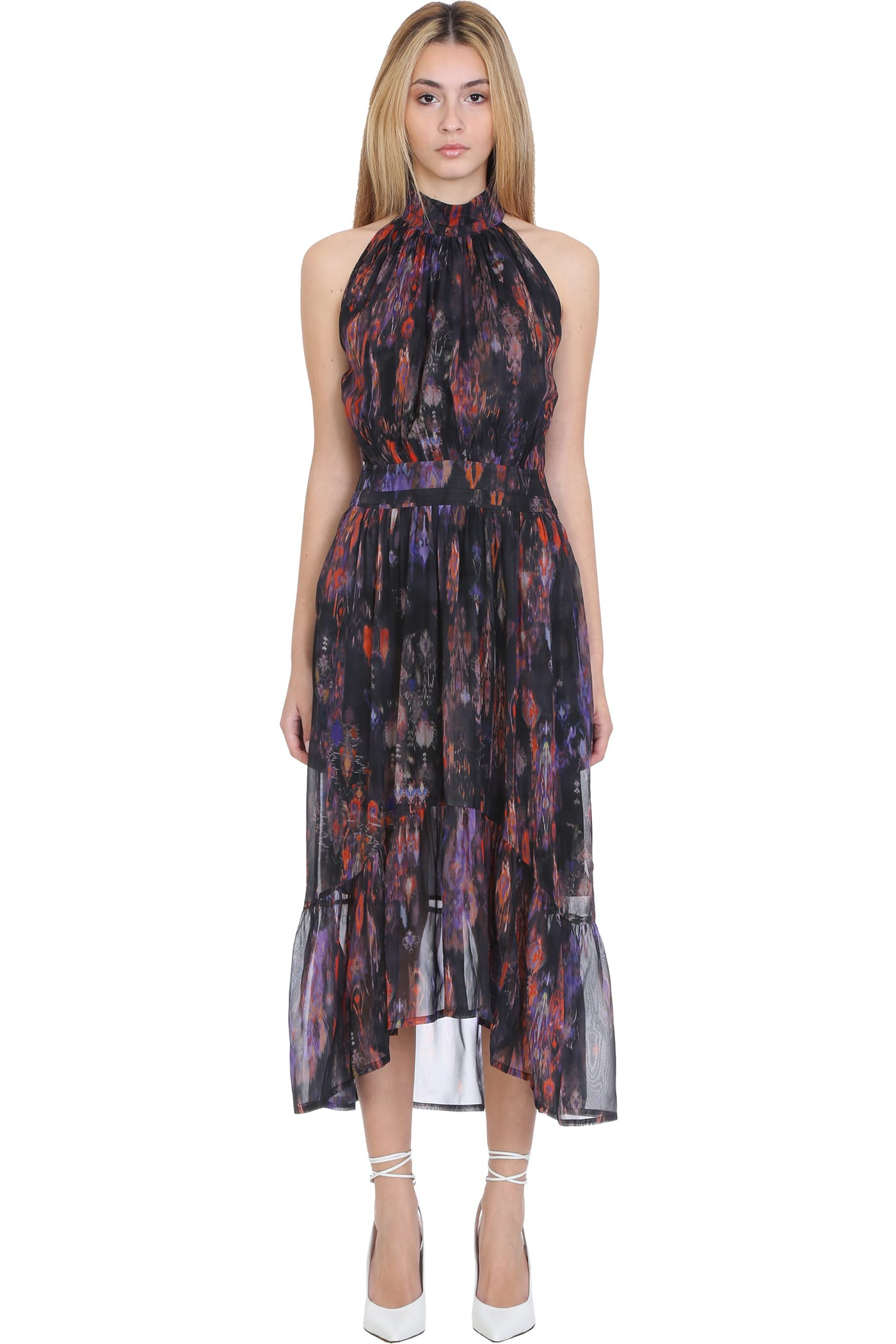 Buy IRO Fiko Dress In Black Polyester online, shop IRO with free shipping