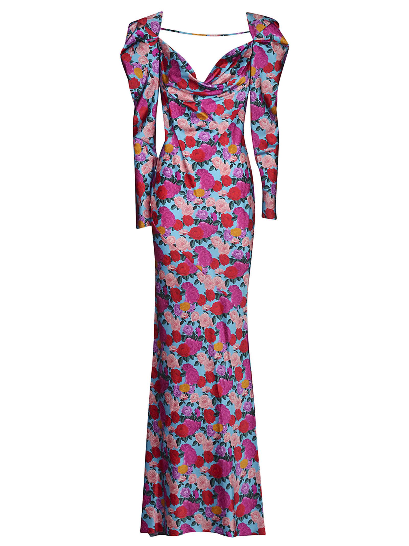 Buy Giuseppe di Morabito Floral Printed Maxi Dress online, shop Giuseppe di Morabito with free shipping