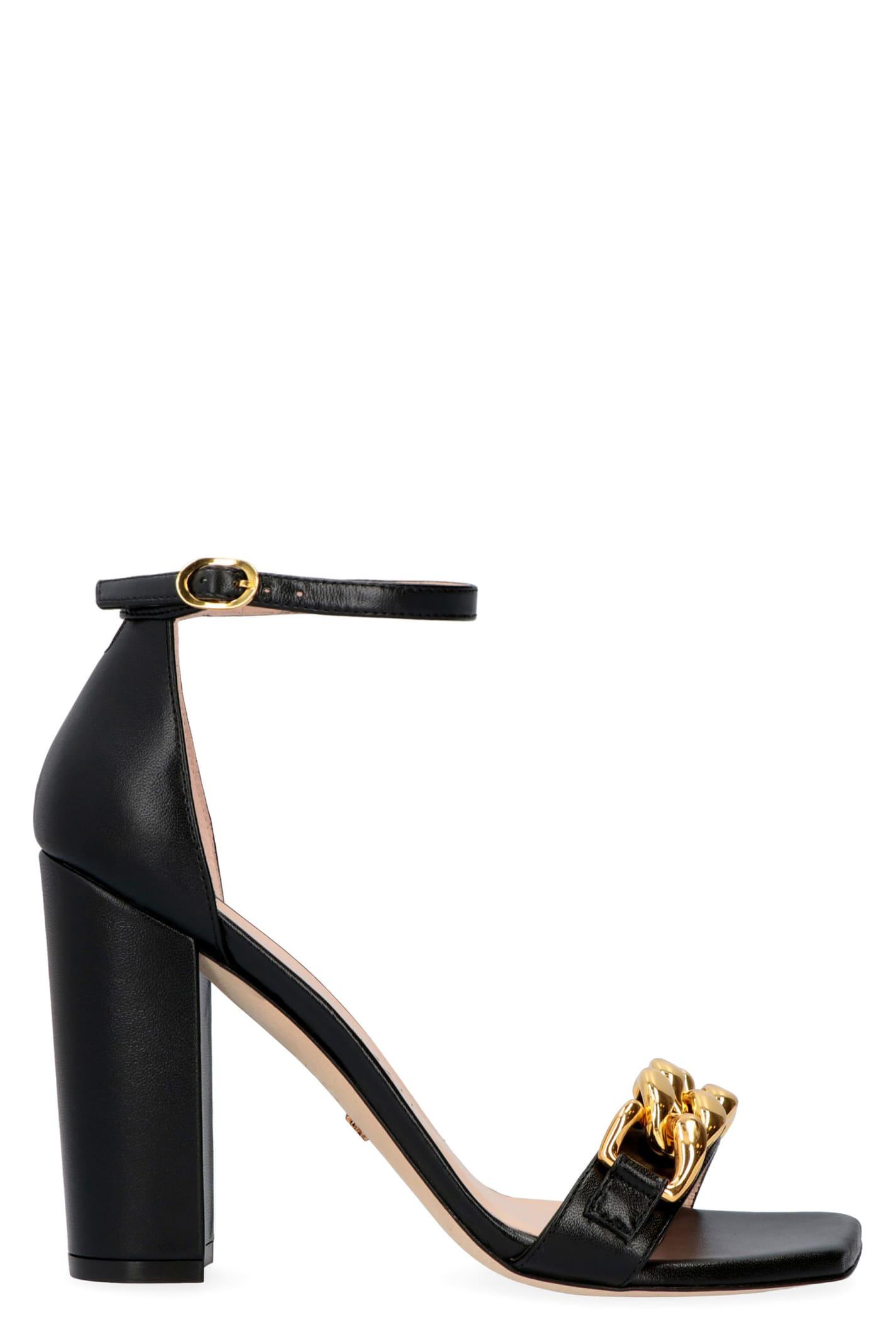 Buy Stuart Weitzman Amelina Heeled Sandals online, shop Stuart Weitzman shoes with free shipping