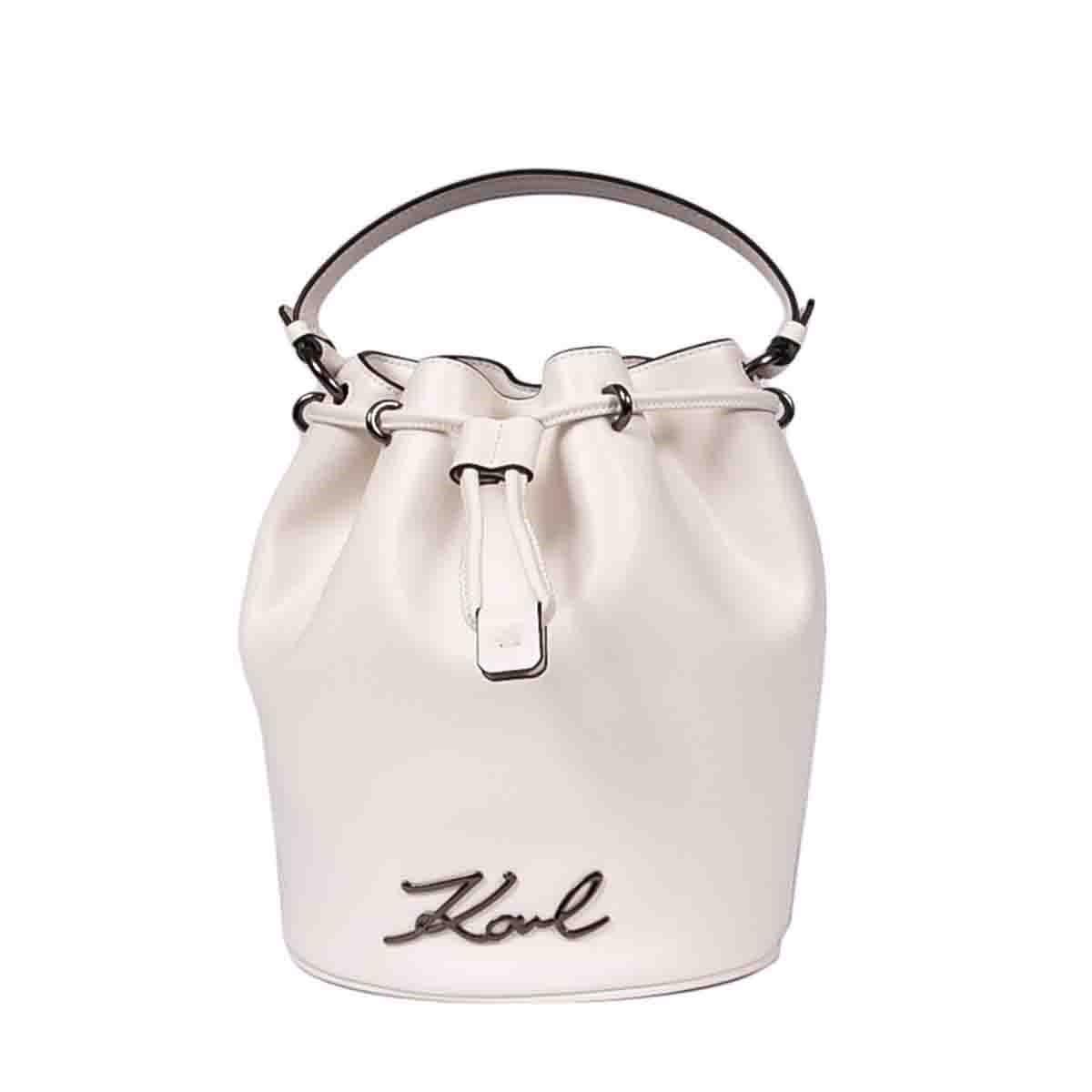 Karl Lagerfeld Bags K/SIGNATURE BUCKET BAG