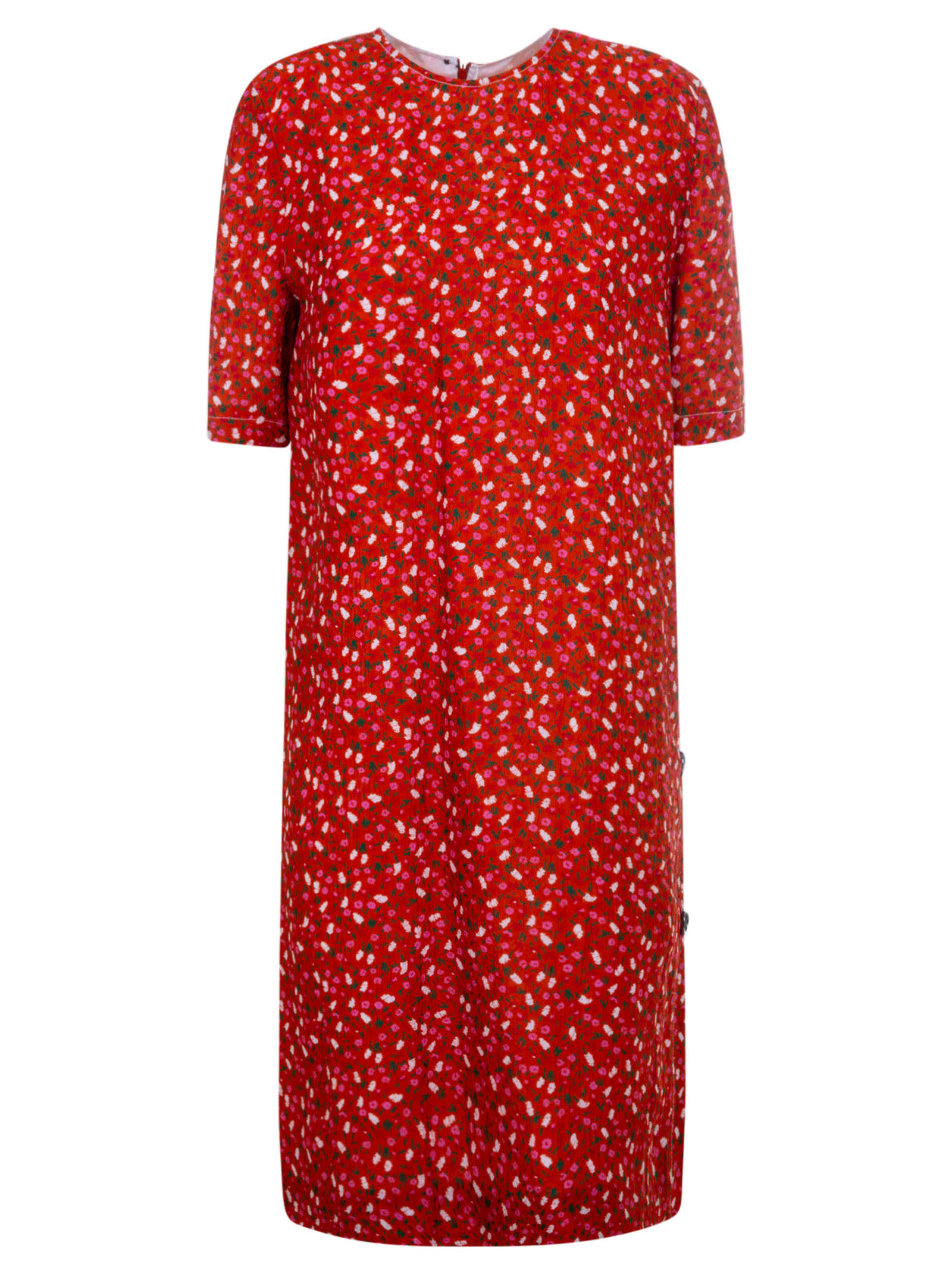 Buy Marni All-over Floral Print Dress online, shop Marni with free shipping