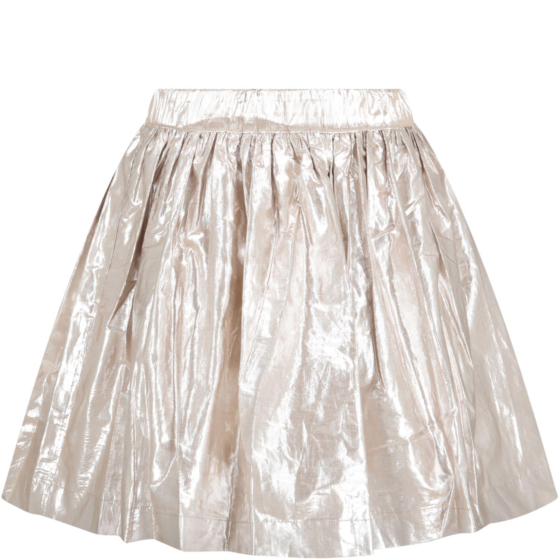 Gold Skirt For Girl