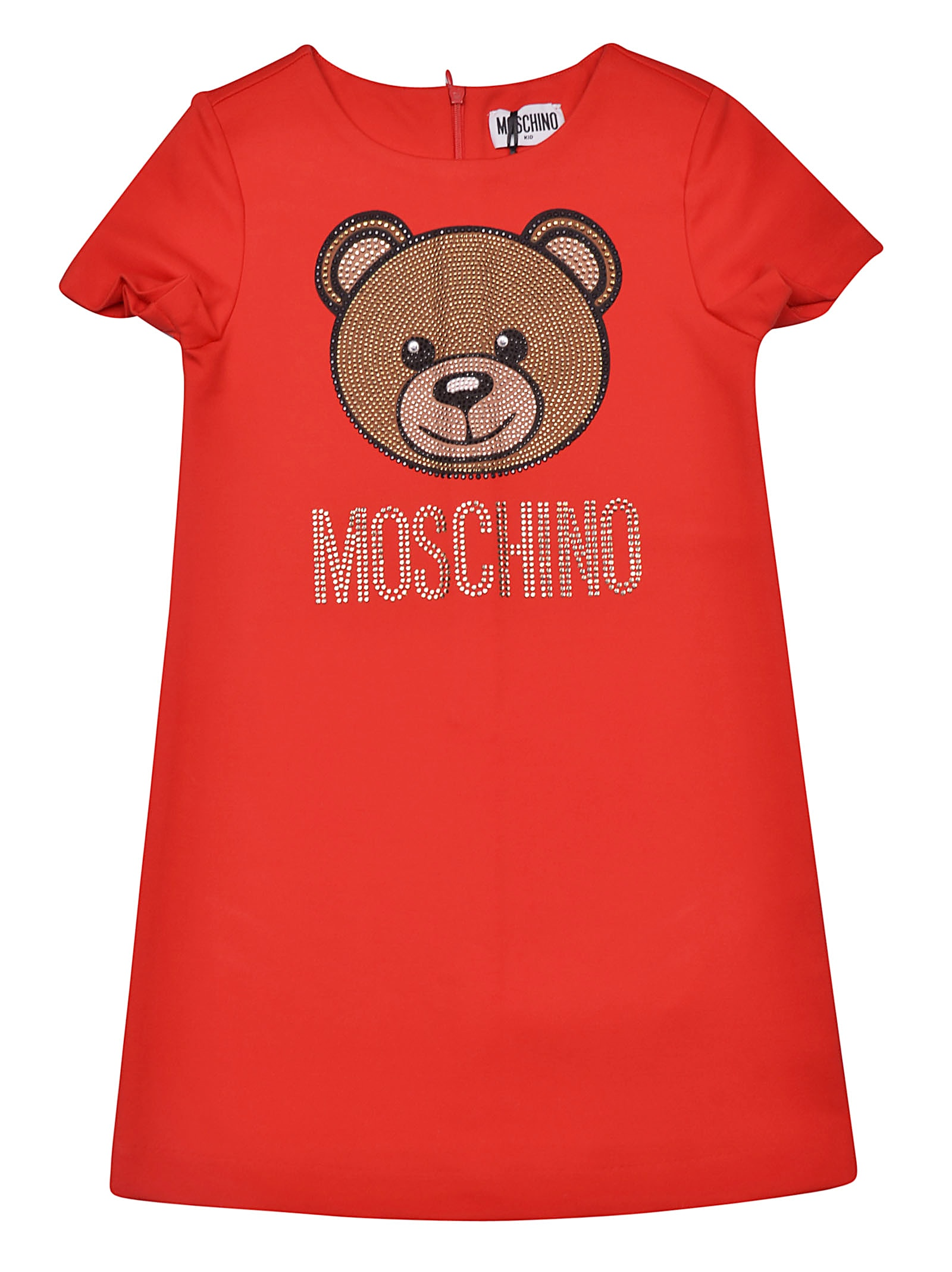Buy Moschino Bear Print Dress online, shop Moschino with free shipping