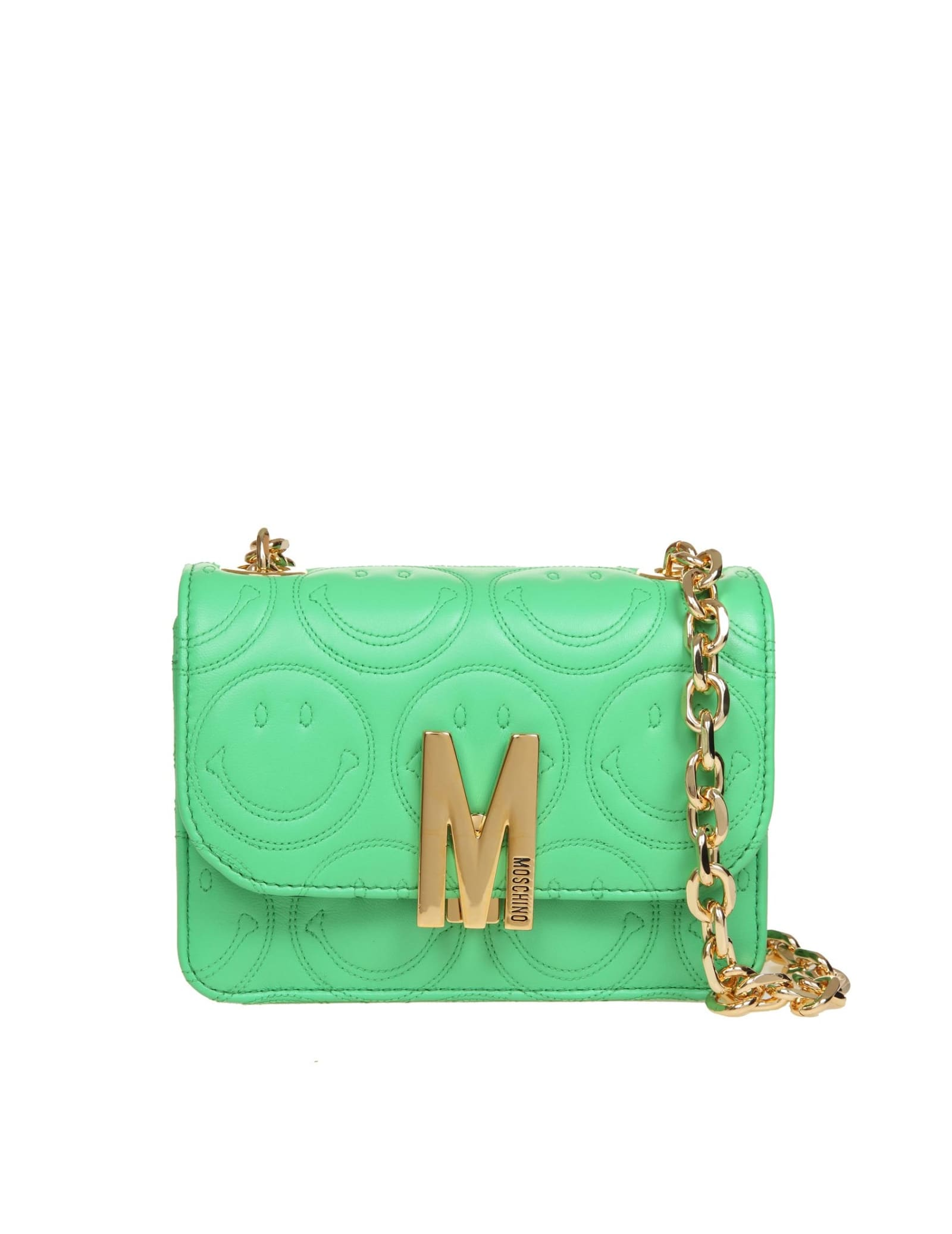 Moschino SHOULDER BAG M BAG SMILEY