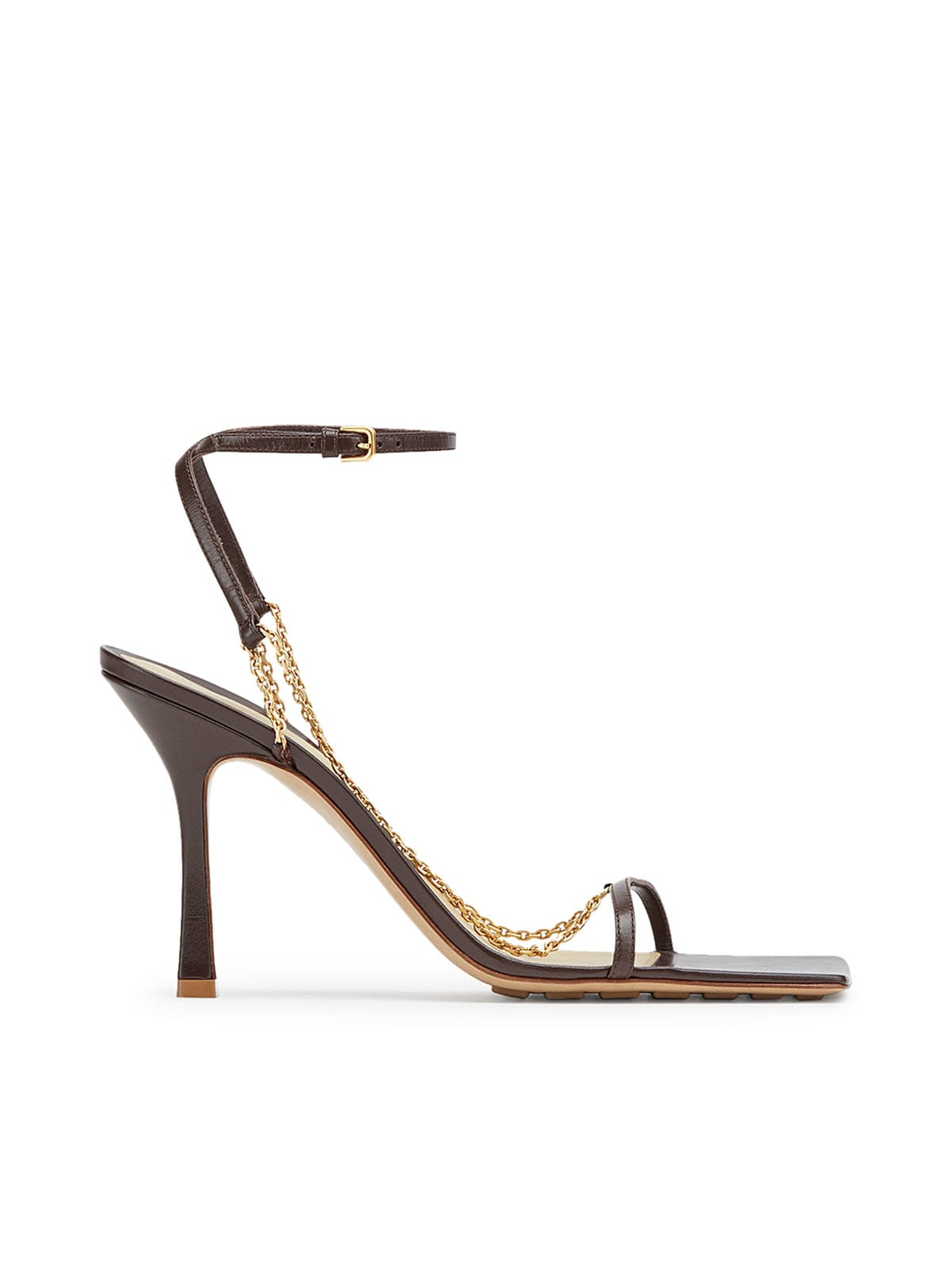 Buy Bottega Veneta Sandal Lounge Nappa online, shop Bottega Veneta shoes with free shipping