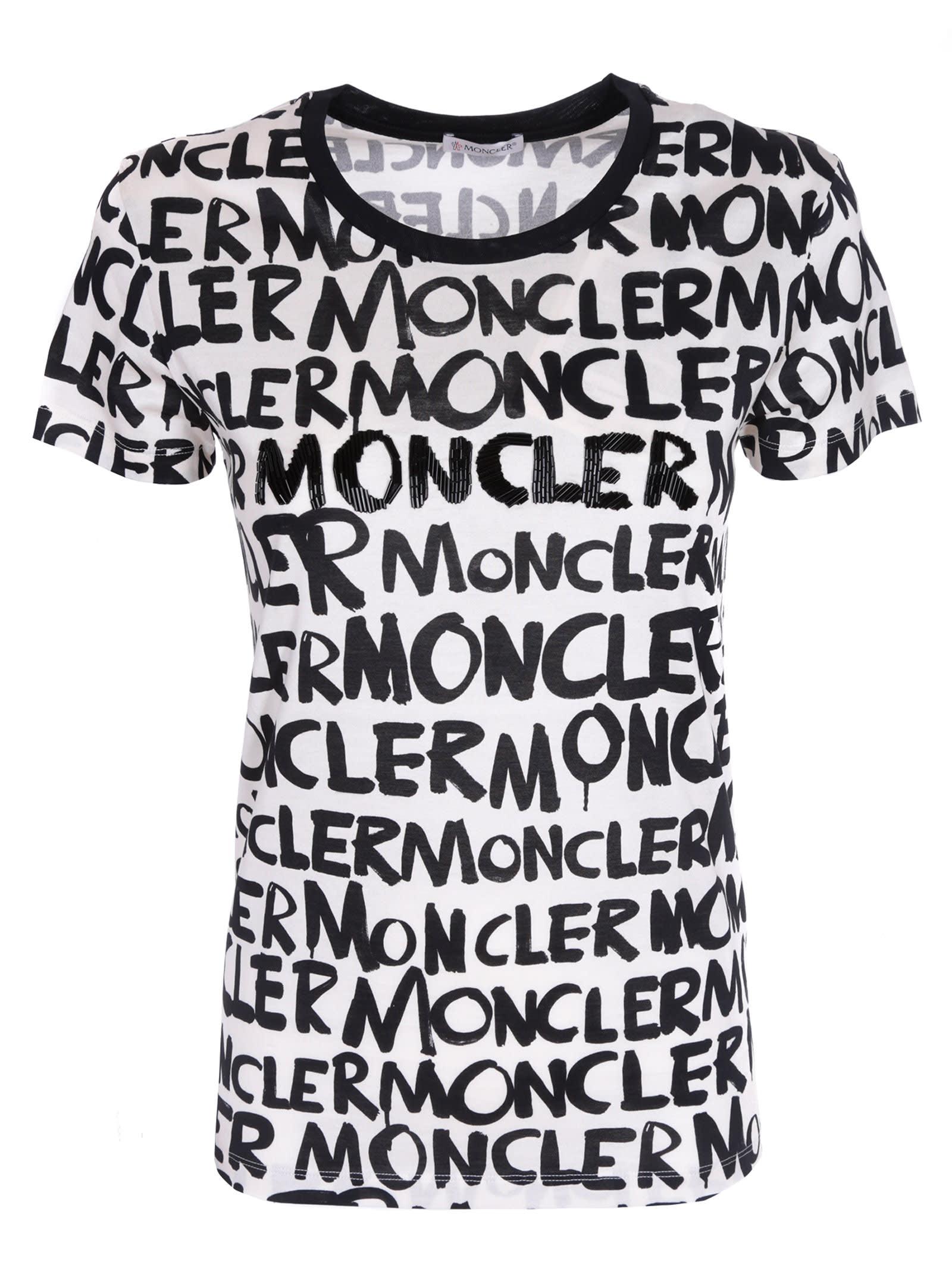 4e2a09945 Shop Moncler T-Shirt on sale at the Marie Claire Edit