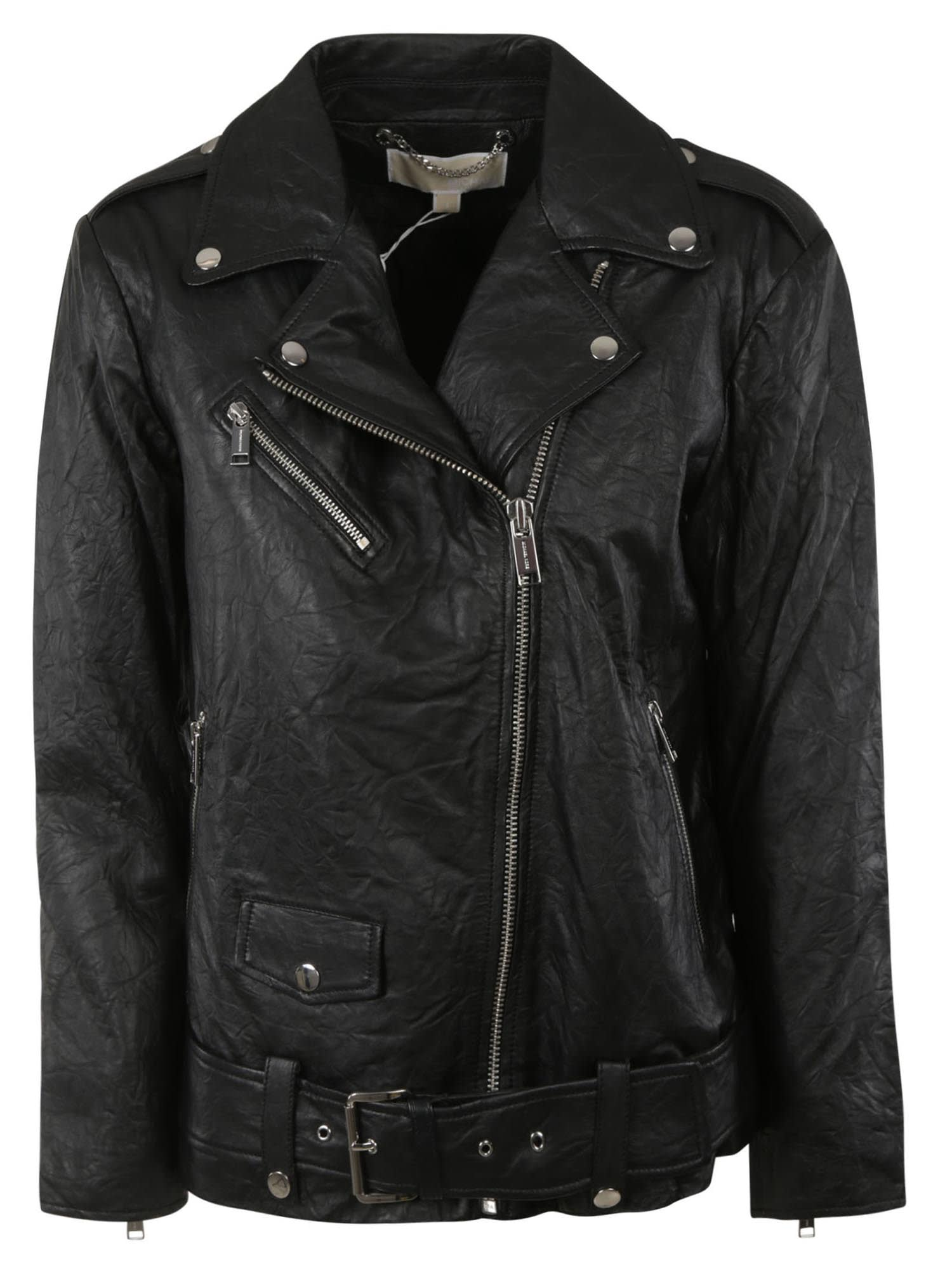 Michael Kors Zip-up Biker Jacket