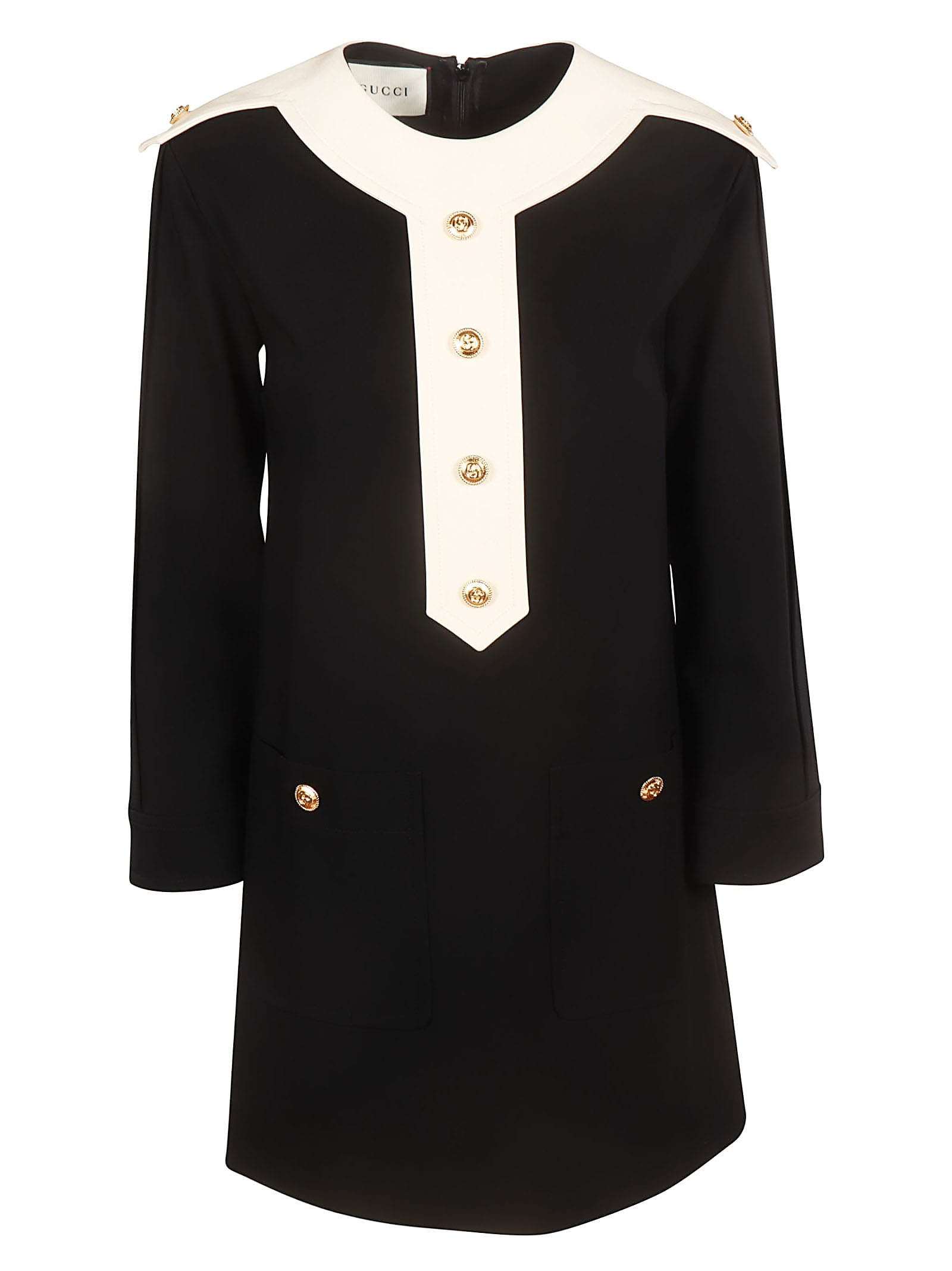 Gucci Buttoned Dress
