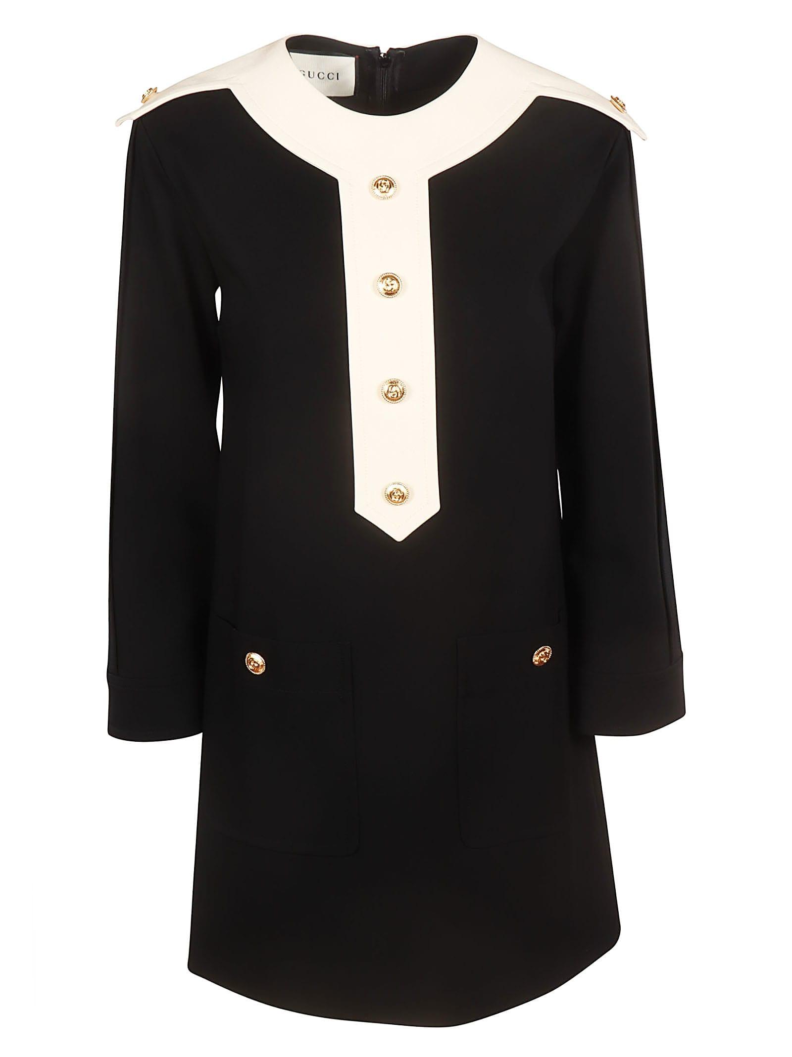 Photo of  Gucci Buttoned Dress- shop Gucci  online sales
