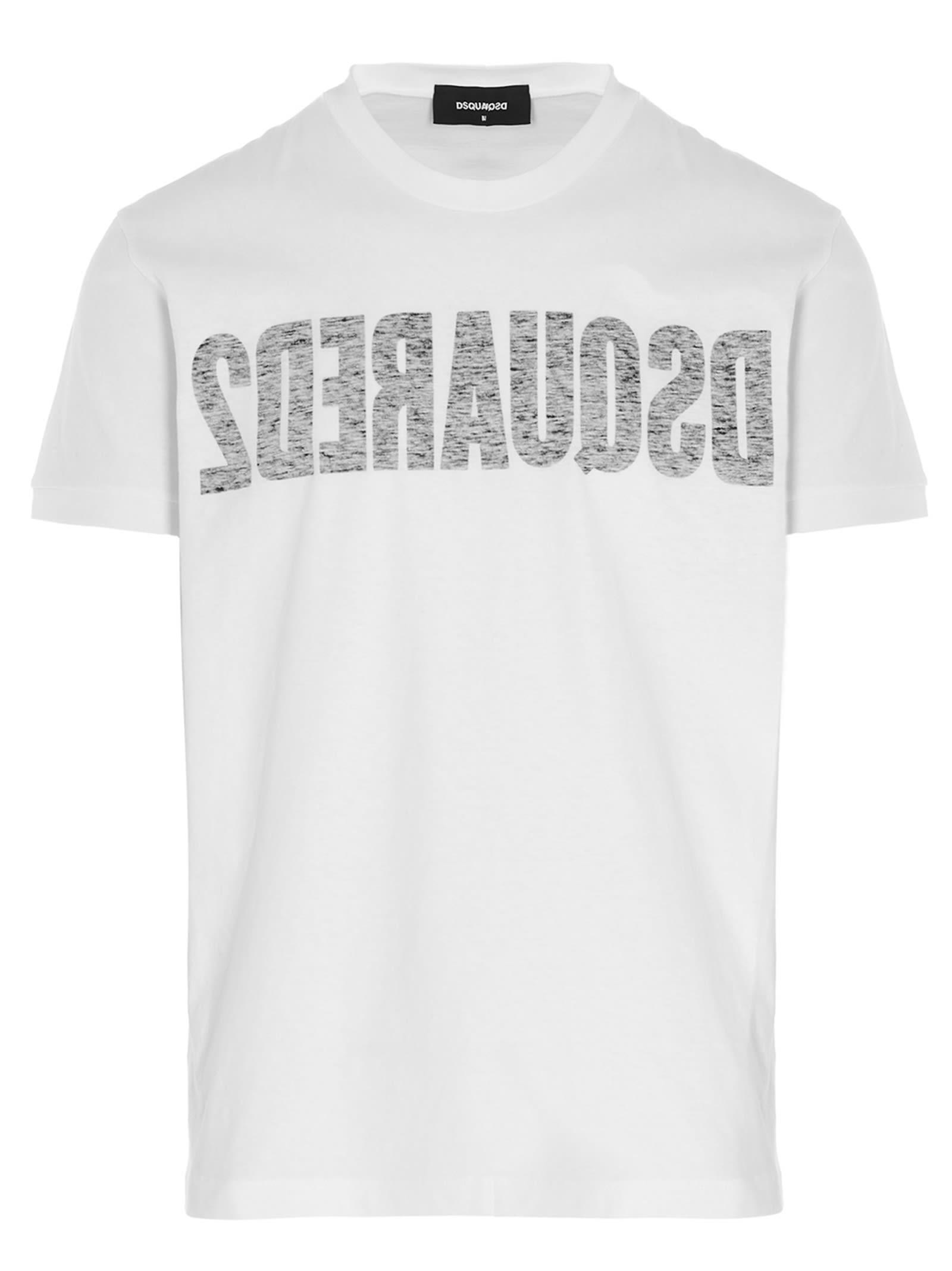 Dsquared2 T-shirts REVERSE LOGO T-SHIRT