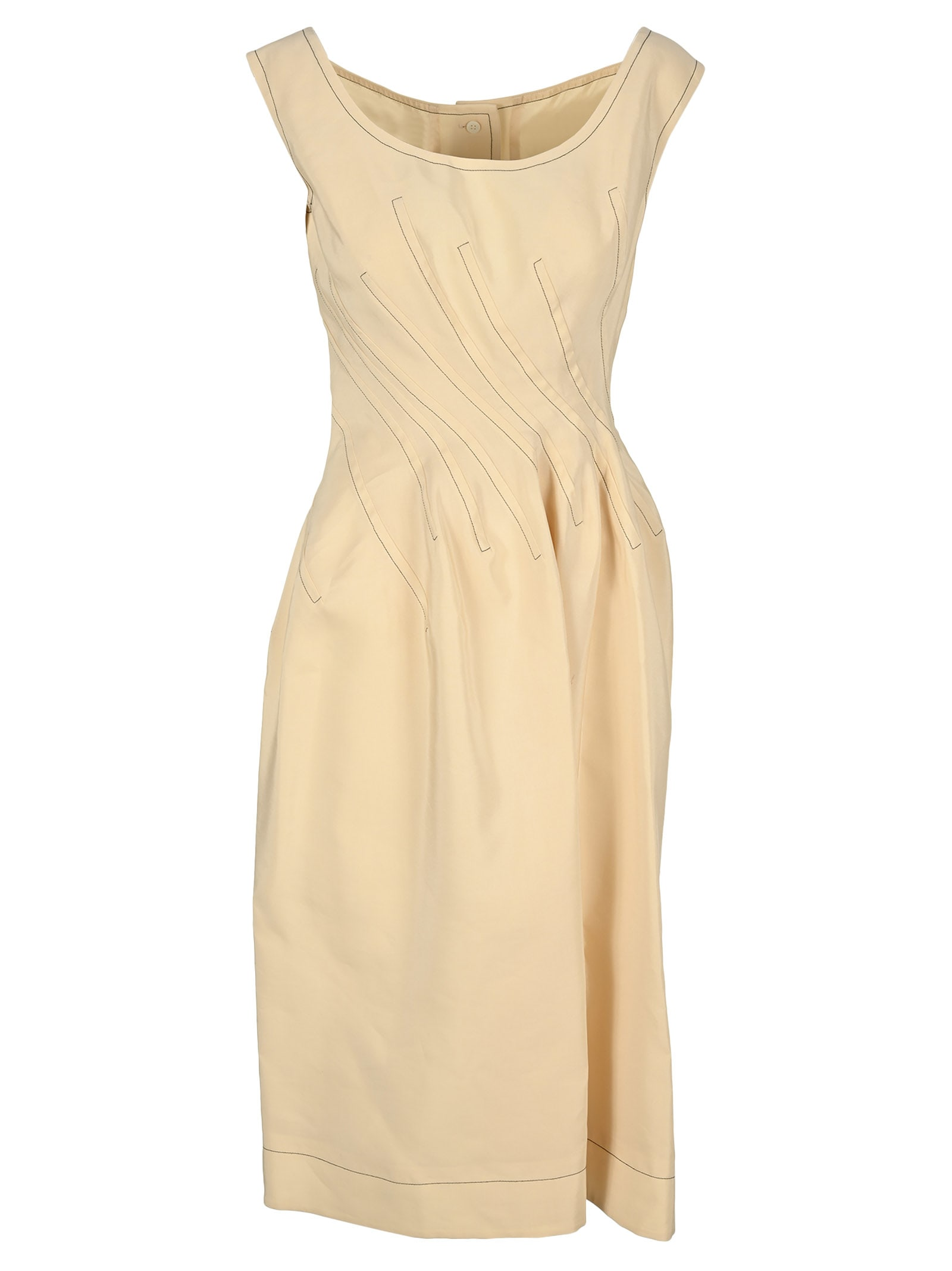 Buy Marni Twisted-waist A-line Dress online, shop Marni with free shipping