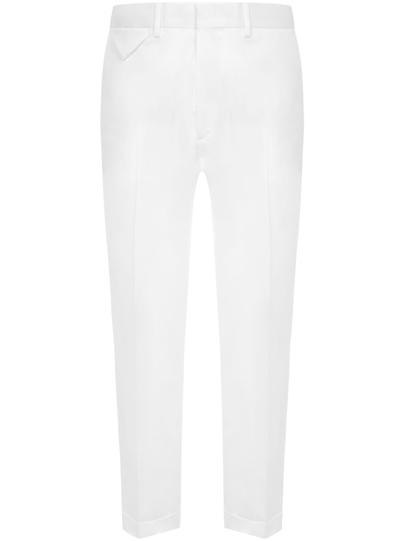 Low Brand Cottons TROUSERS
