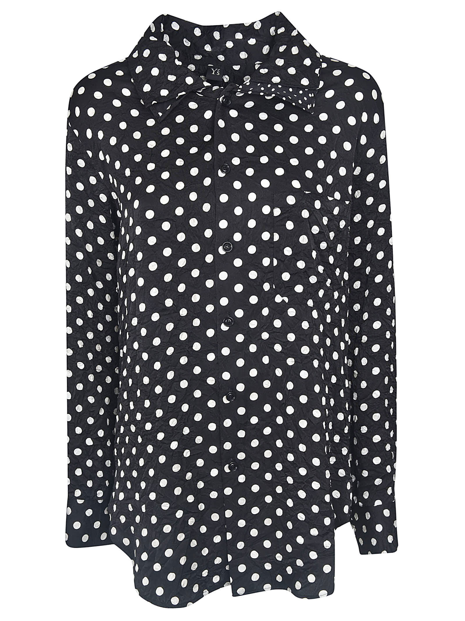 Ys Dotted Print Long Shirt
