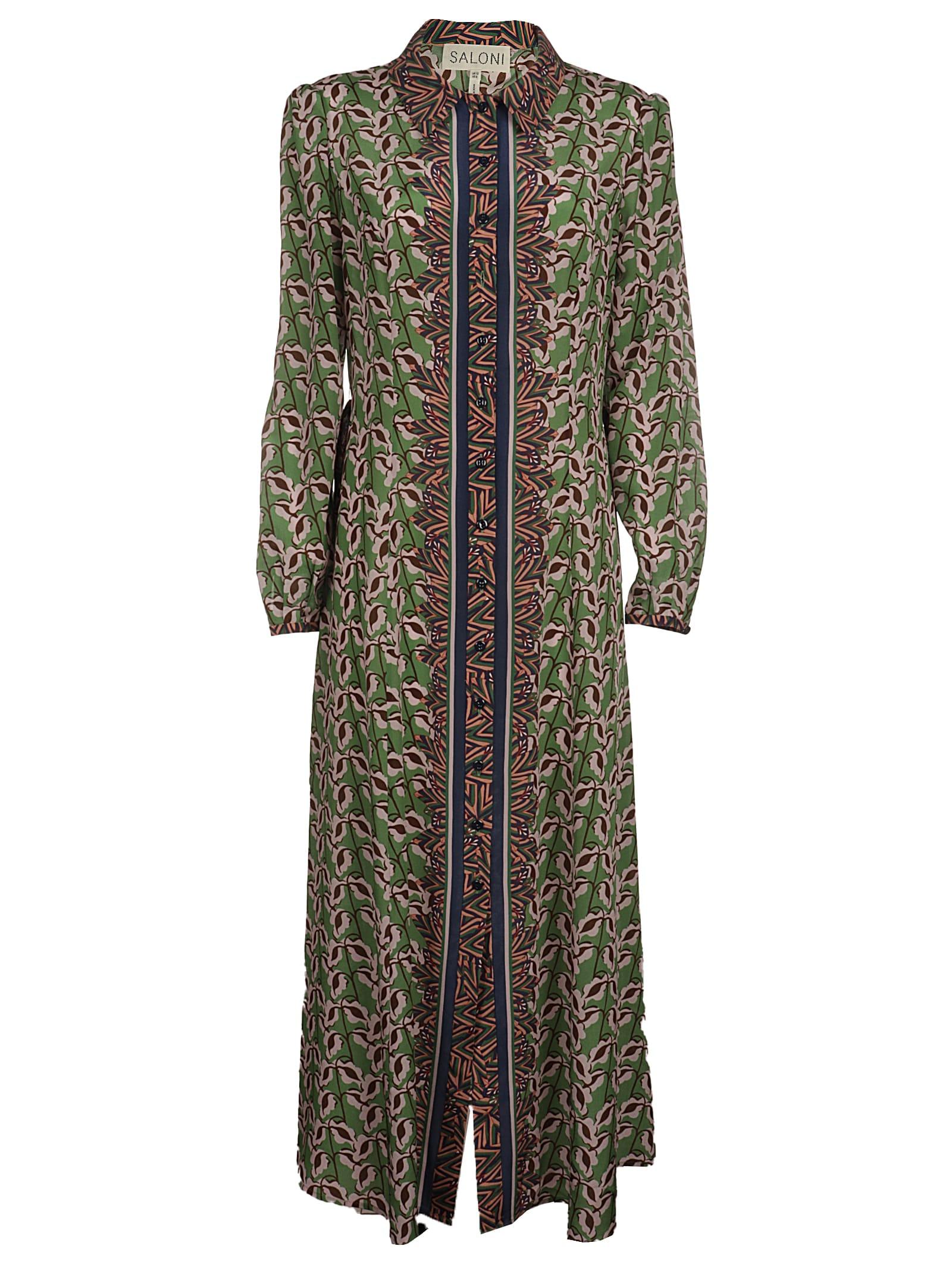 Saloni Midi dresses VANESSA-B DRESS