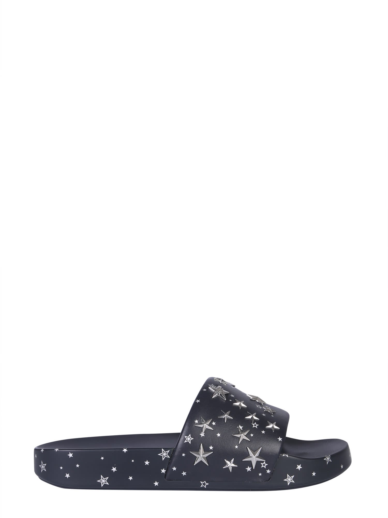 Tory Burch Slide Sandals With Stars