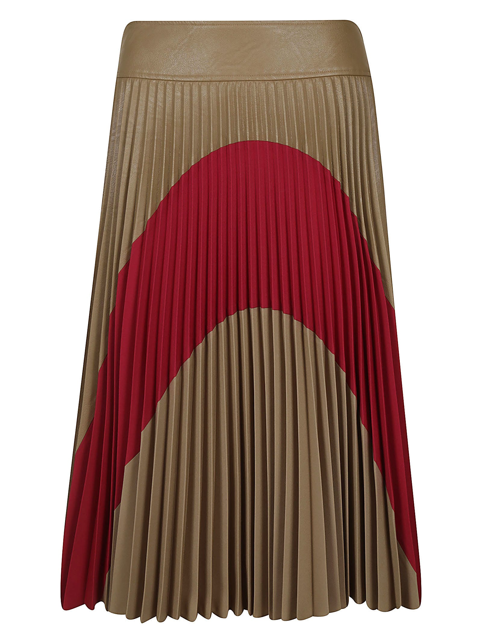 Stella McCartney Pleated Flared Skirt