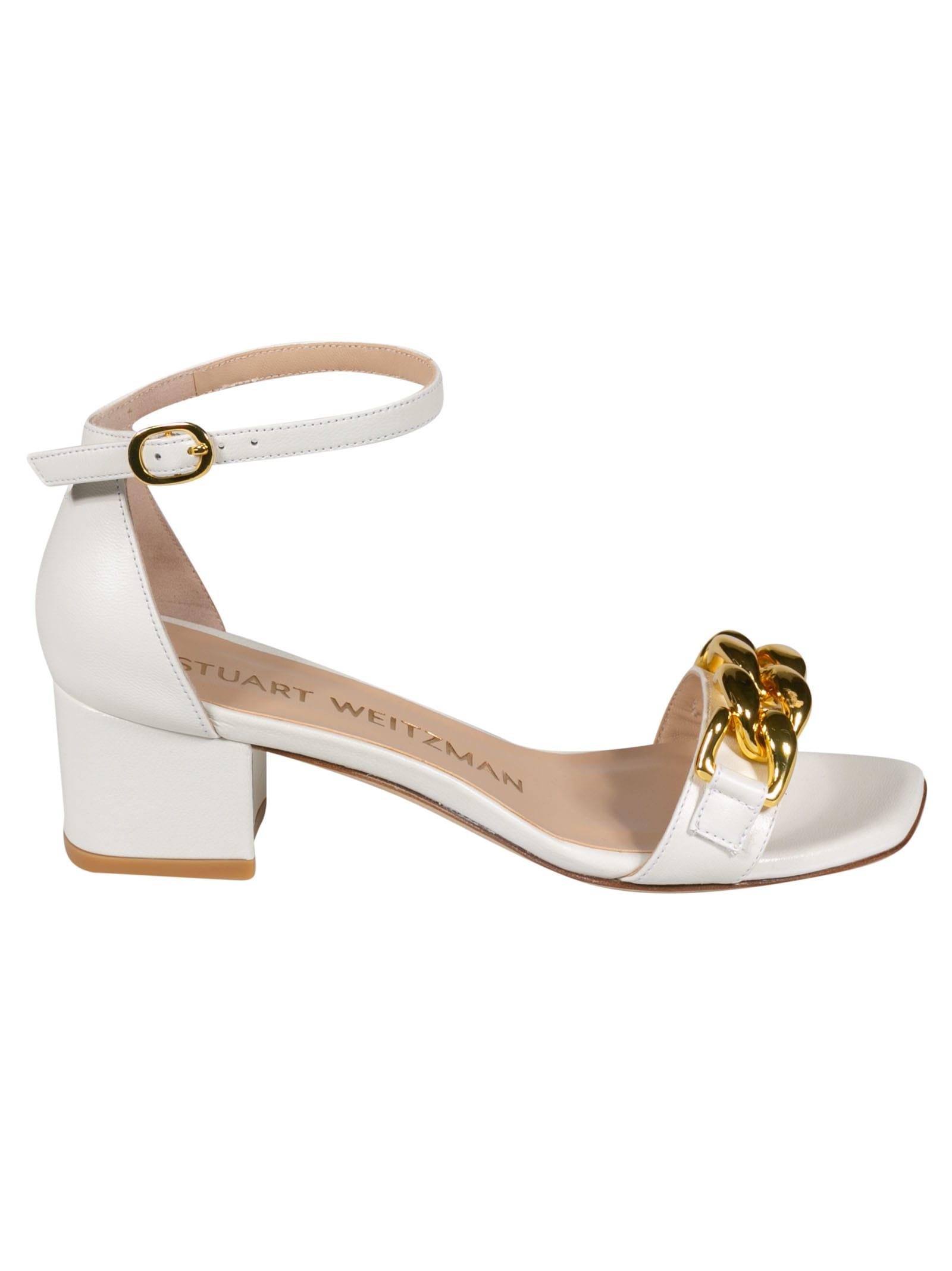 Buy Stuart Weitzman Amelina Block Heel Sandals online, shop Stuart Weitzman shoes with free shipping