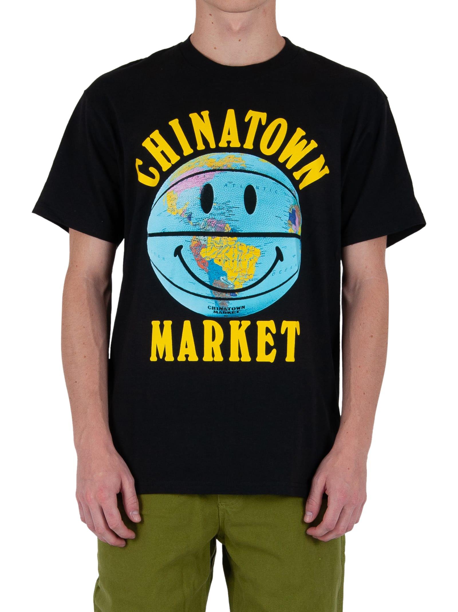 Chinatown Market Smiley Logo Tee - Black