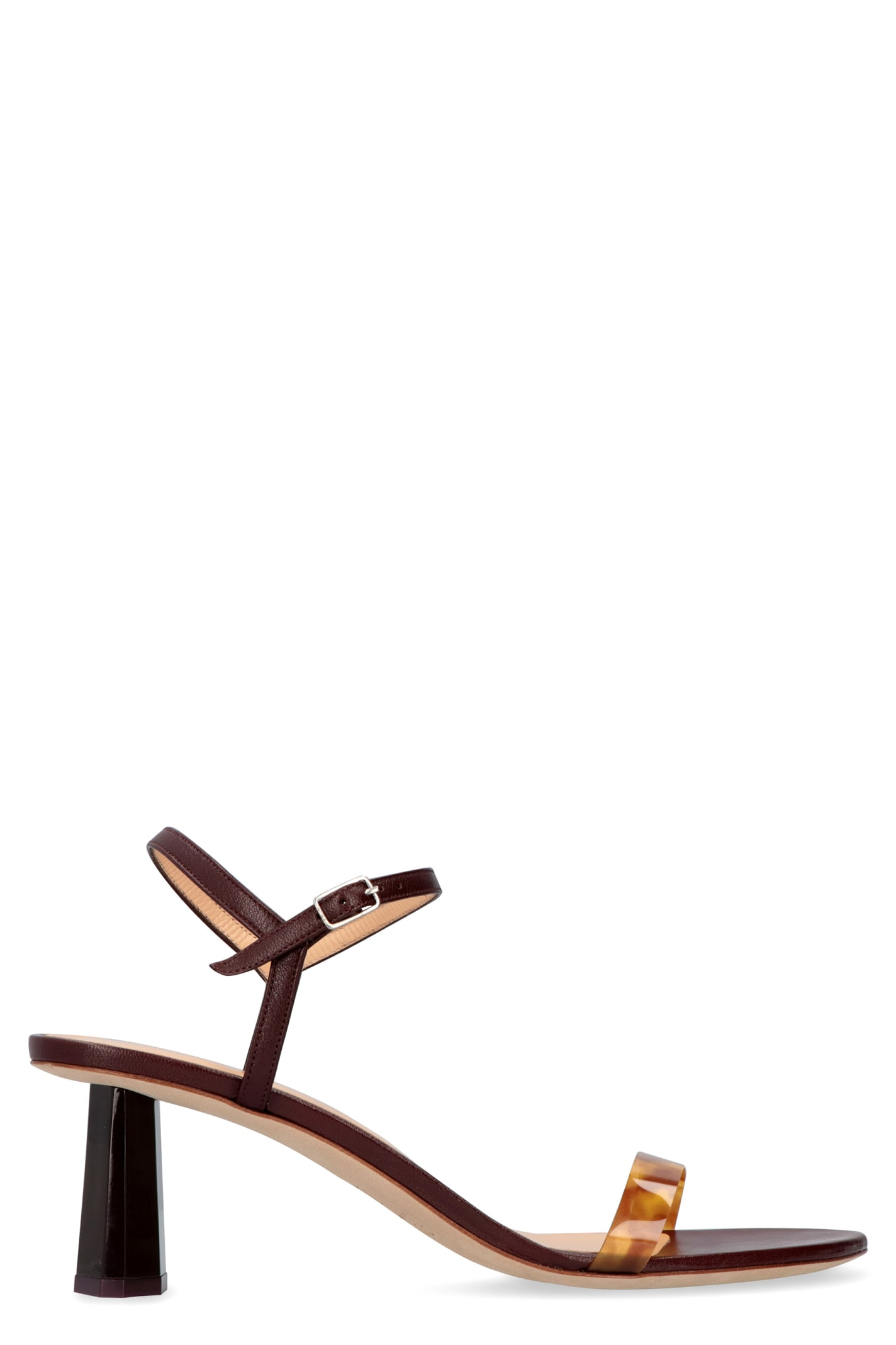 BY FAR Magnolia Leather Sandals