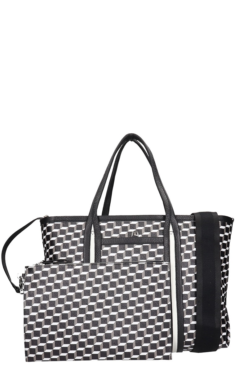 Pierre Hardy Tote In Black Leather