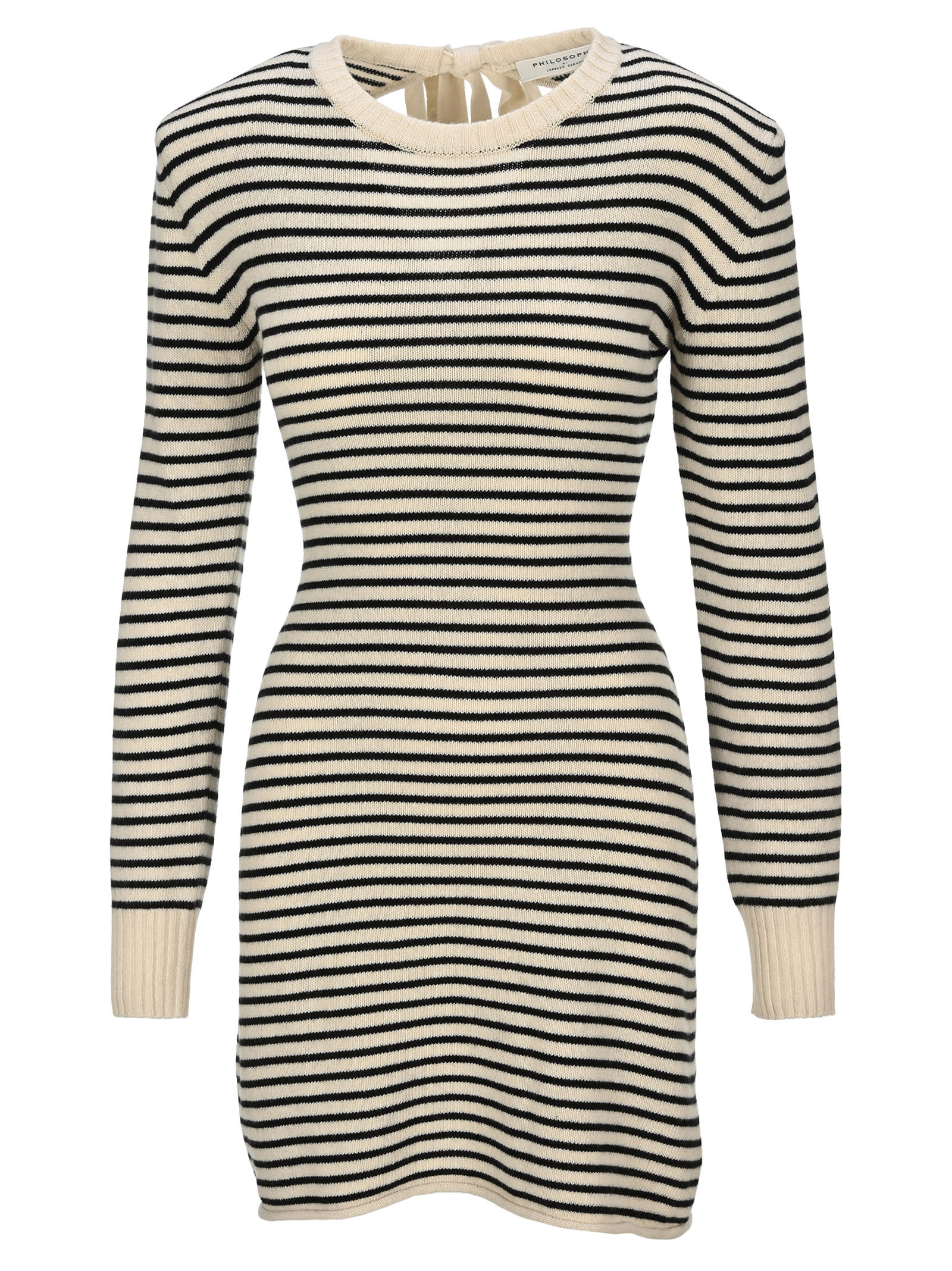 Philosophy Striped Knit Dress