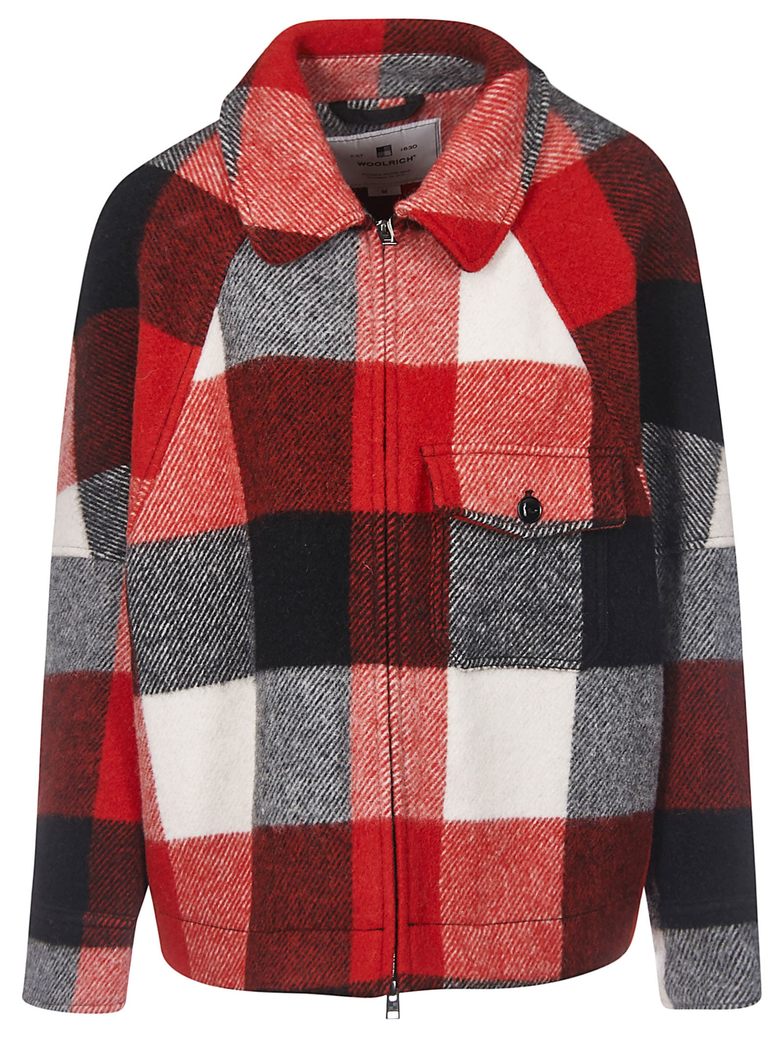 Woolrich Checked Jacket