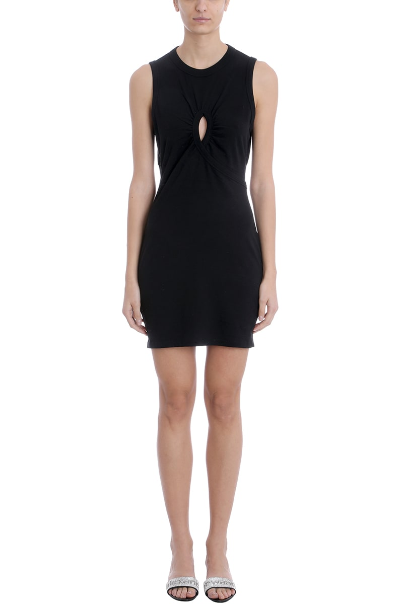 T by Alexander Wang Twisted Mini Dress