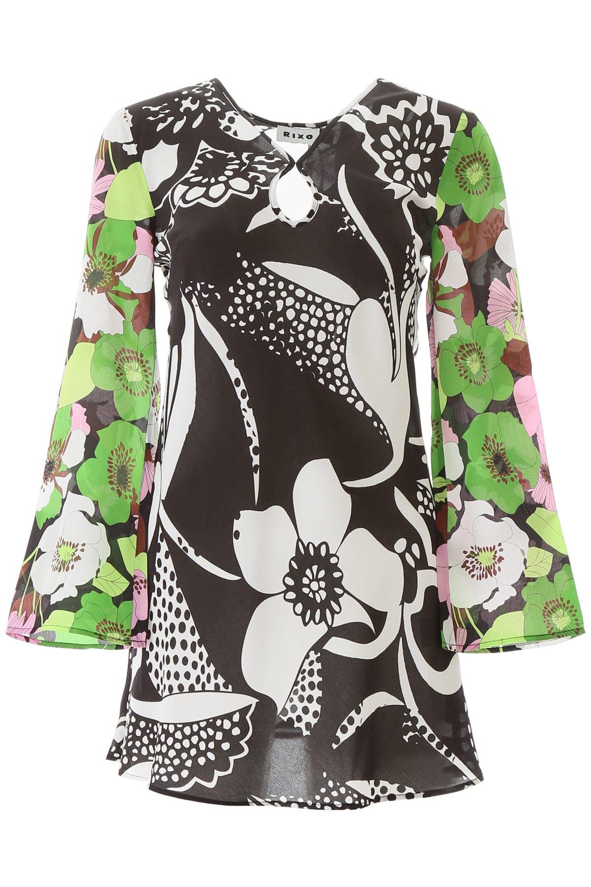 Buy RIXO Julie Mini Dress online, shop RIXO with free shipping