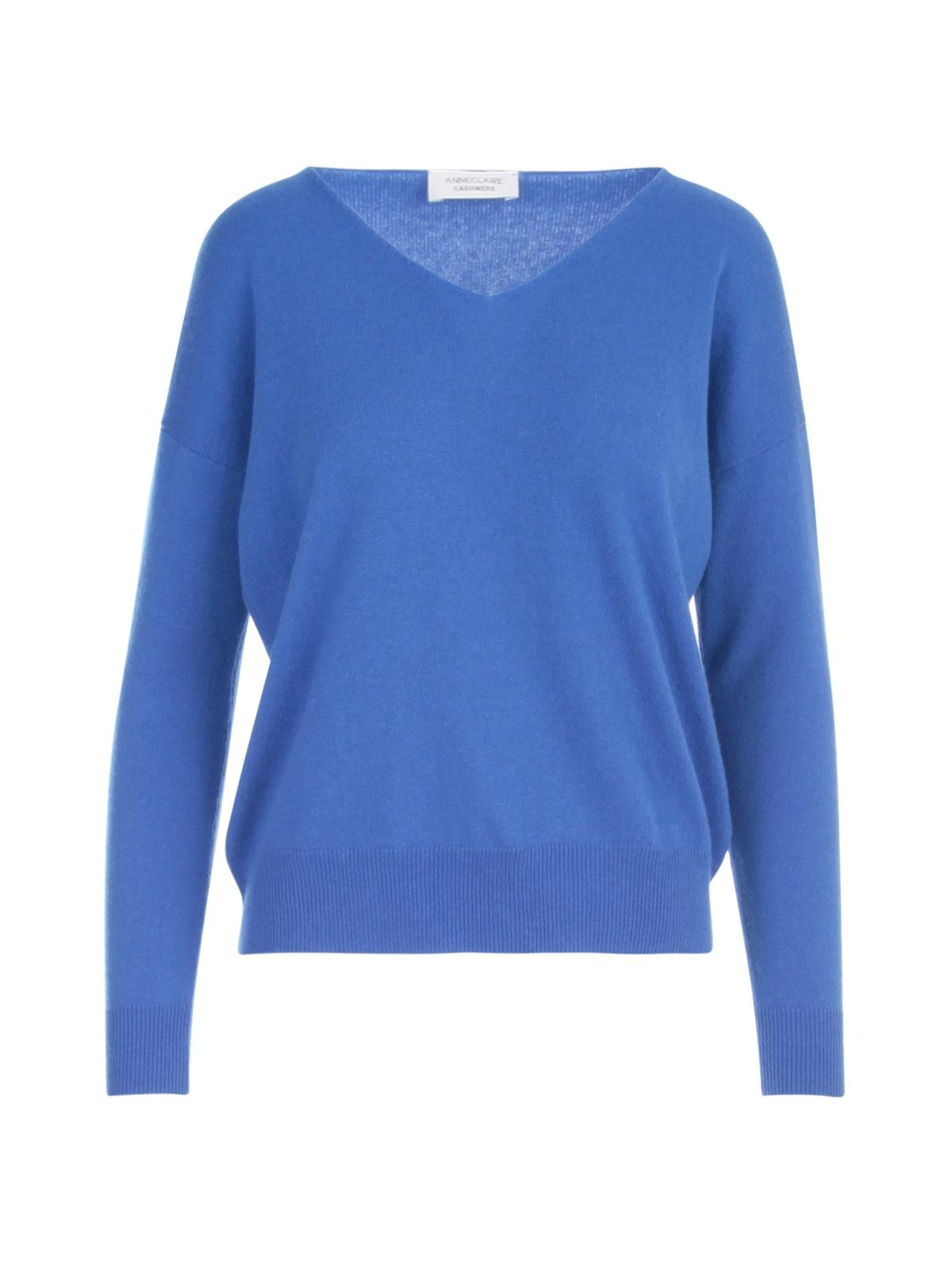Cashmere V Neck L/s Sweater