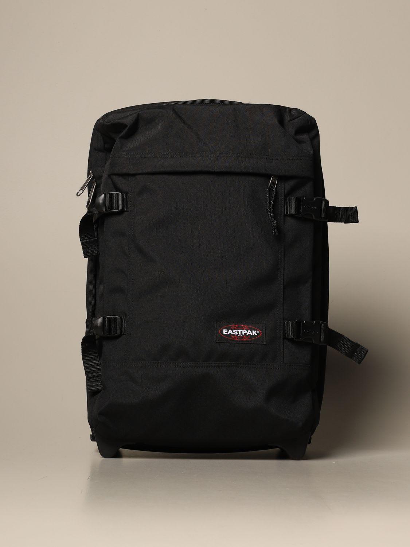 Eastpak Travel Bag Tranverz S Black Eastpak Suitcase In Polyester