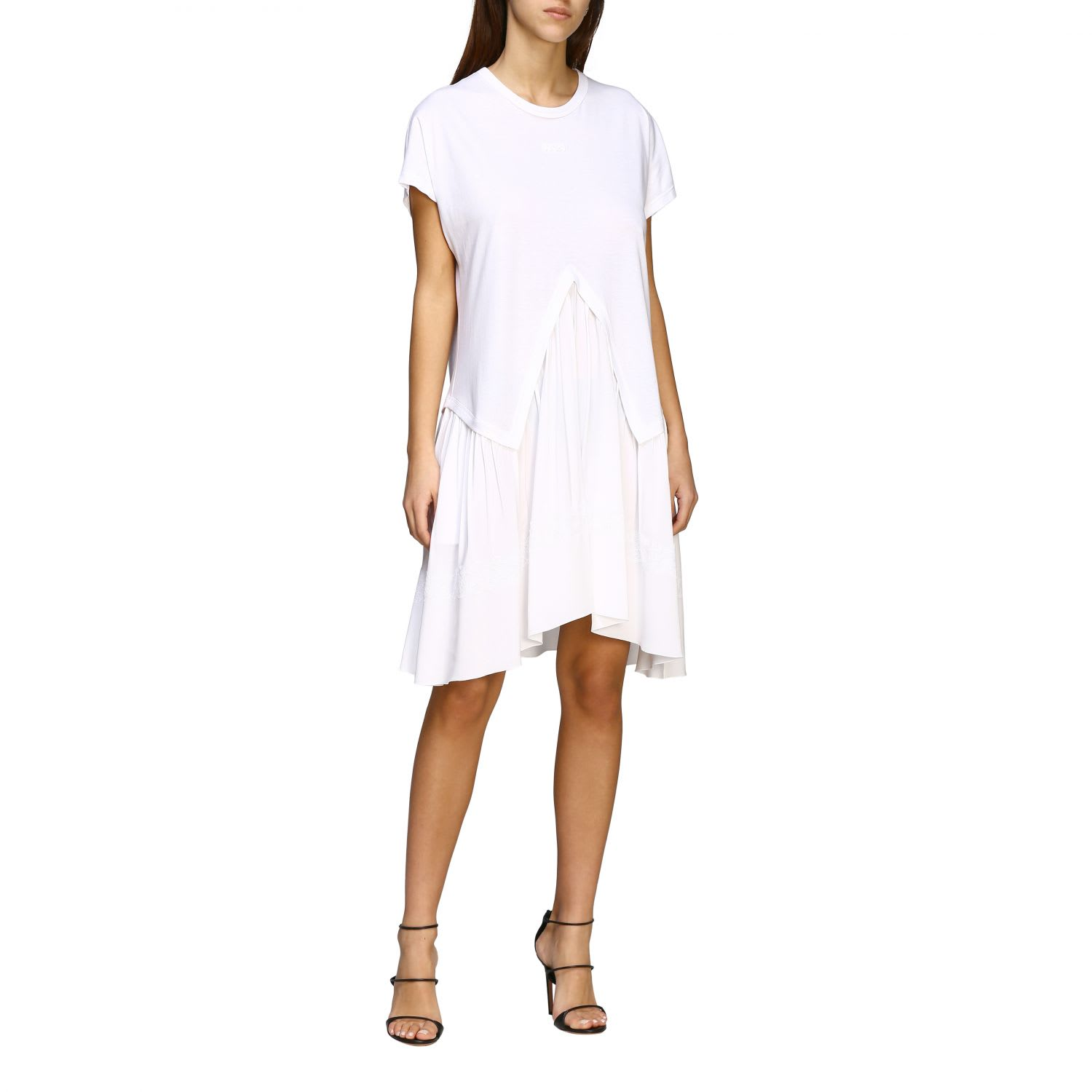 Buy N° 21 Dress N ° 21 Jersey Dress With Lace Details online, shop N.21 with free shipping