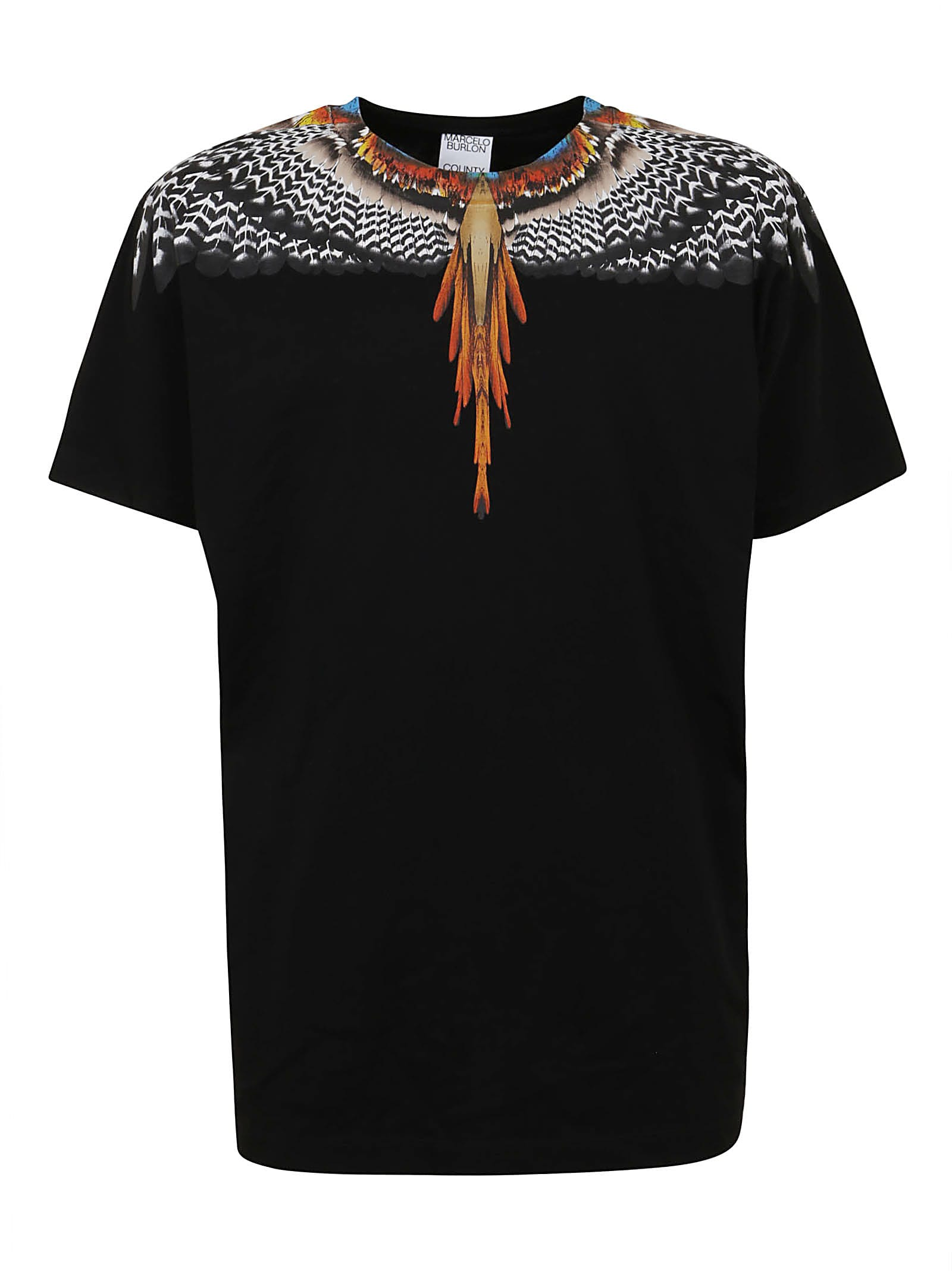Marcelo Burlon County Of Milan Cottons GRIZZLY WINGS REGULAR TEE