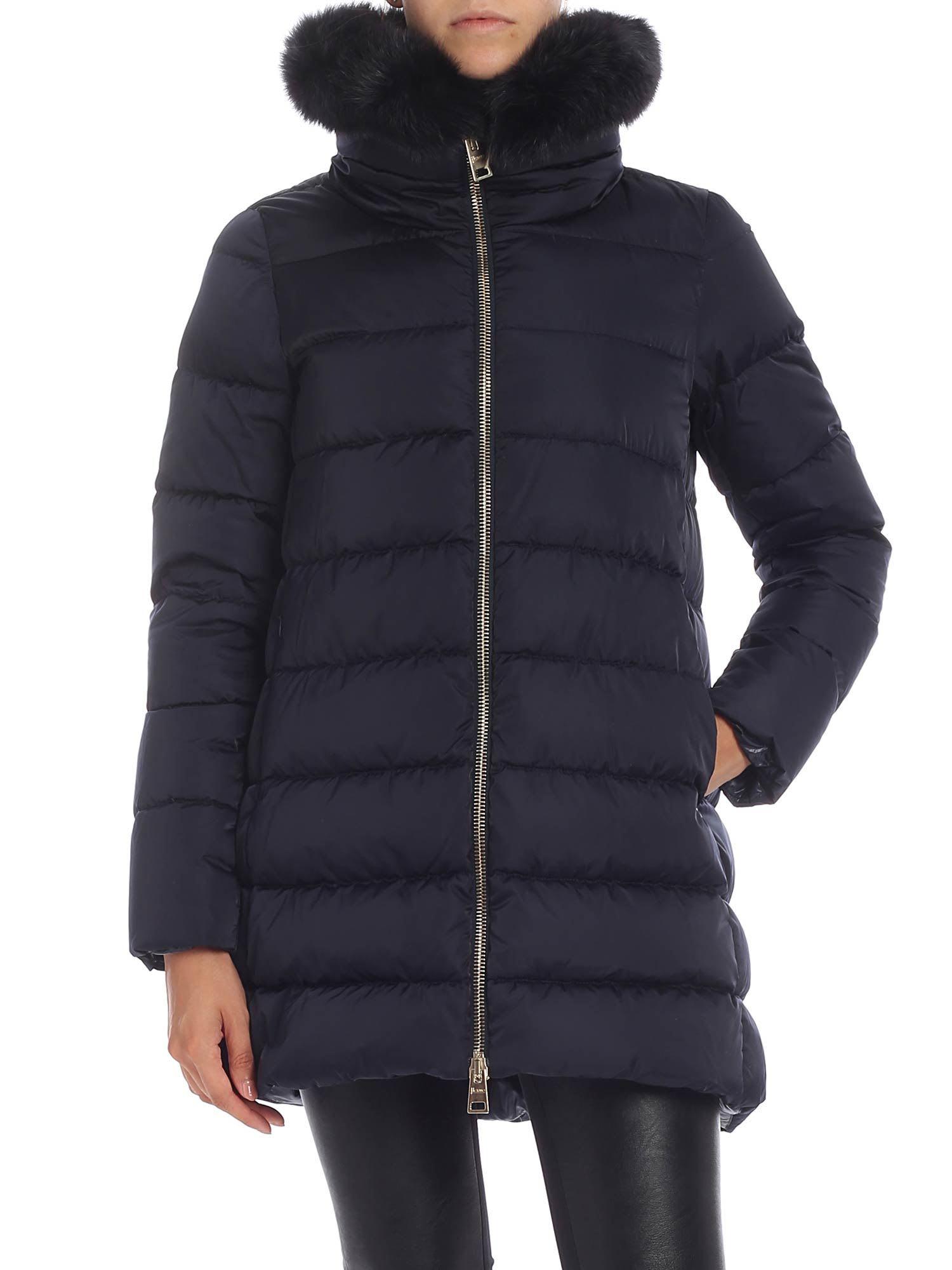 Herno Fur Neck Down Jacket