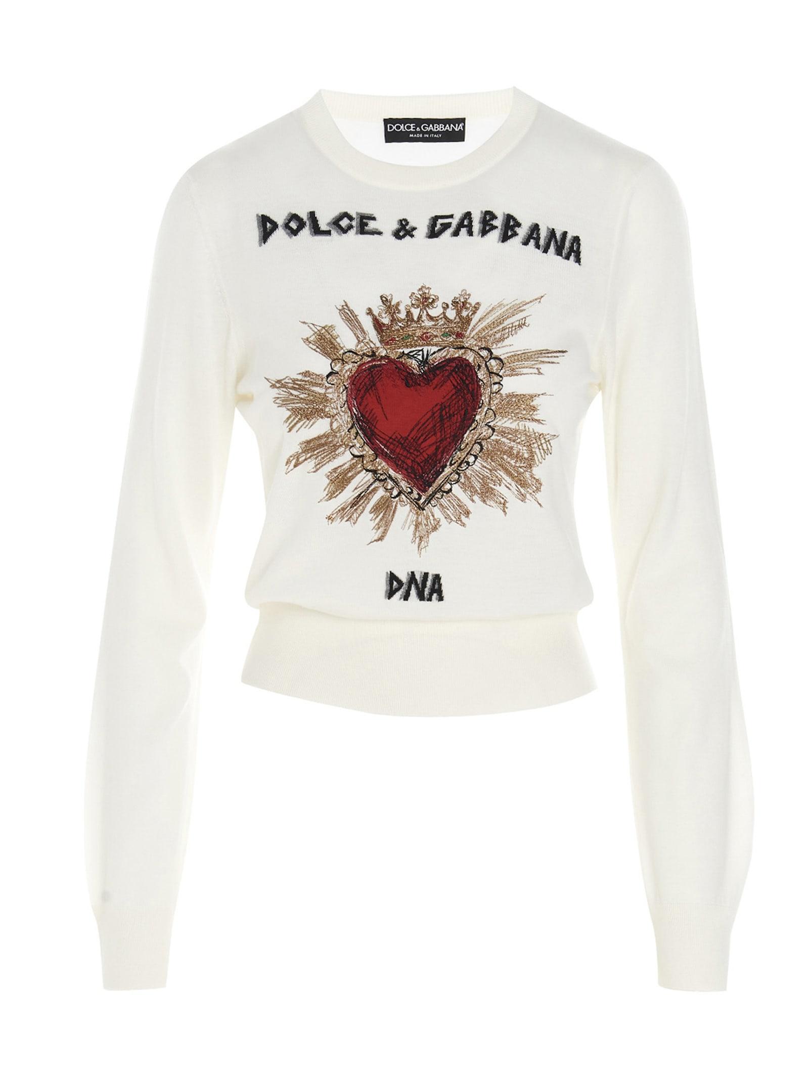 Dolce & Gabbana cuore Sacro Sweater