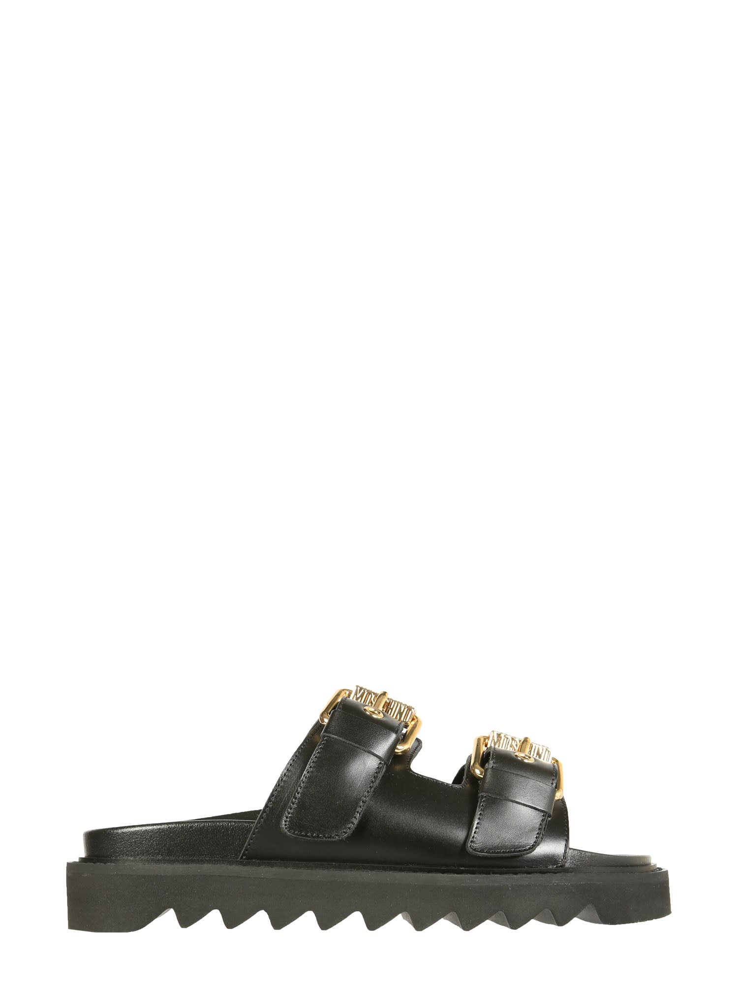 Moschino SANDALS WITH BUCKLES
