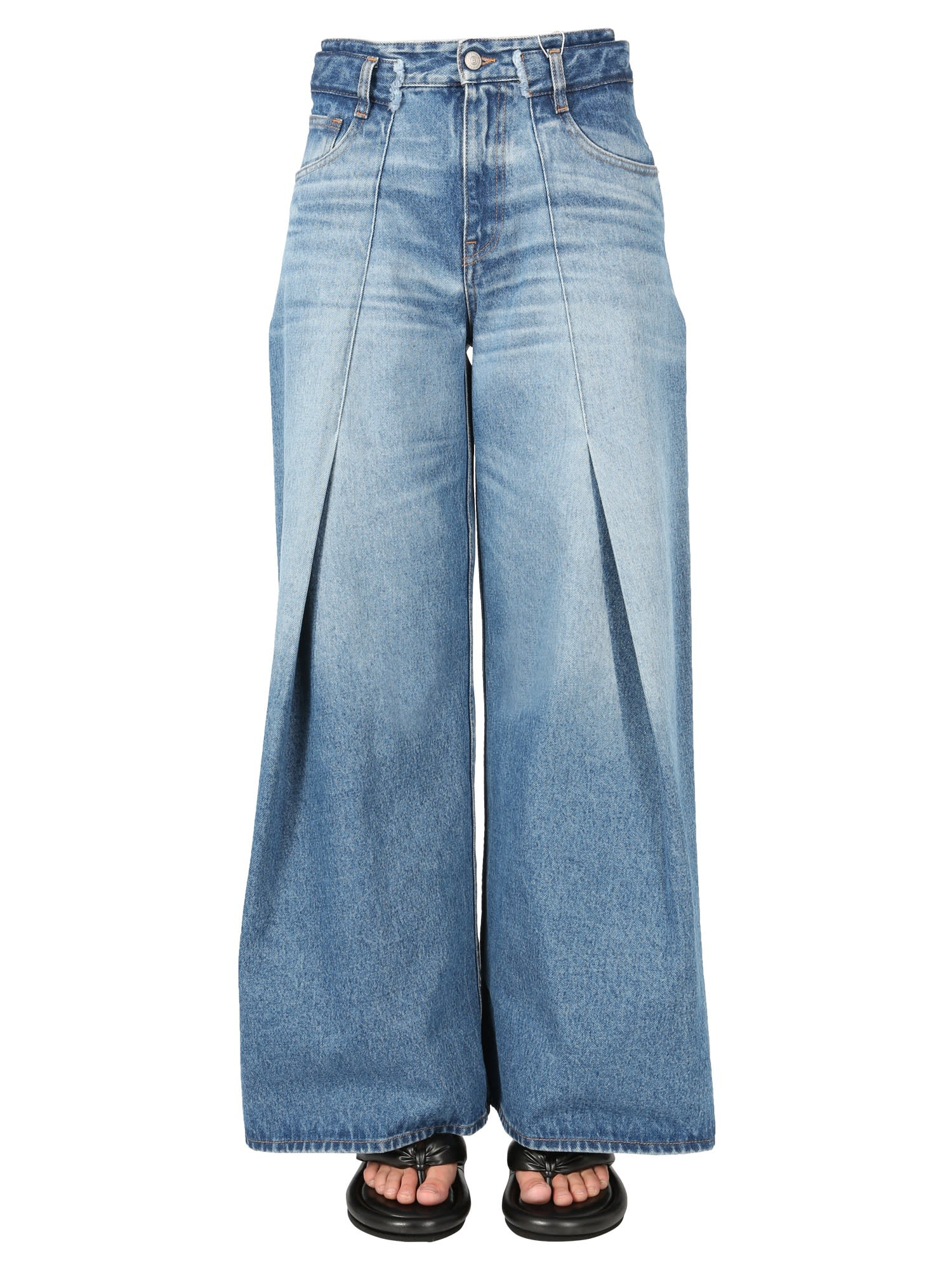 Mm6 Maison Margiela Cottons FLARED JEANS