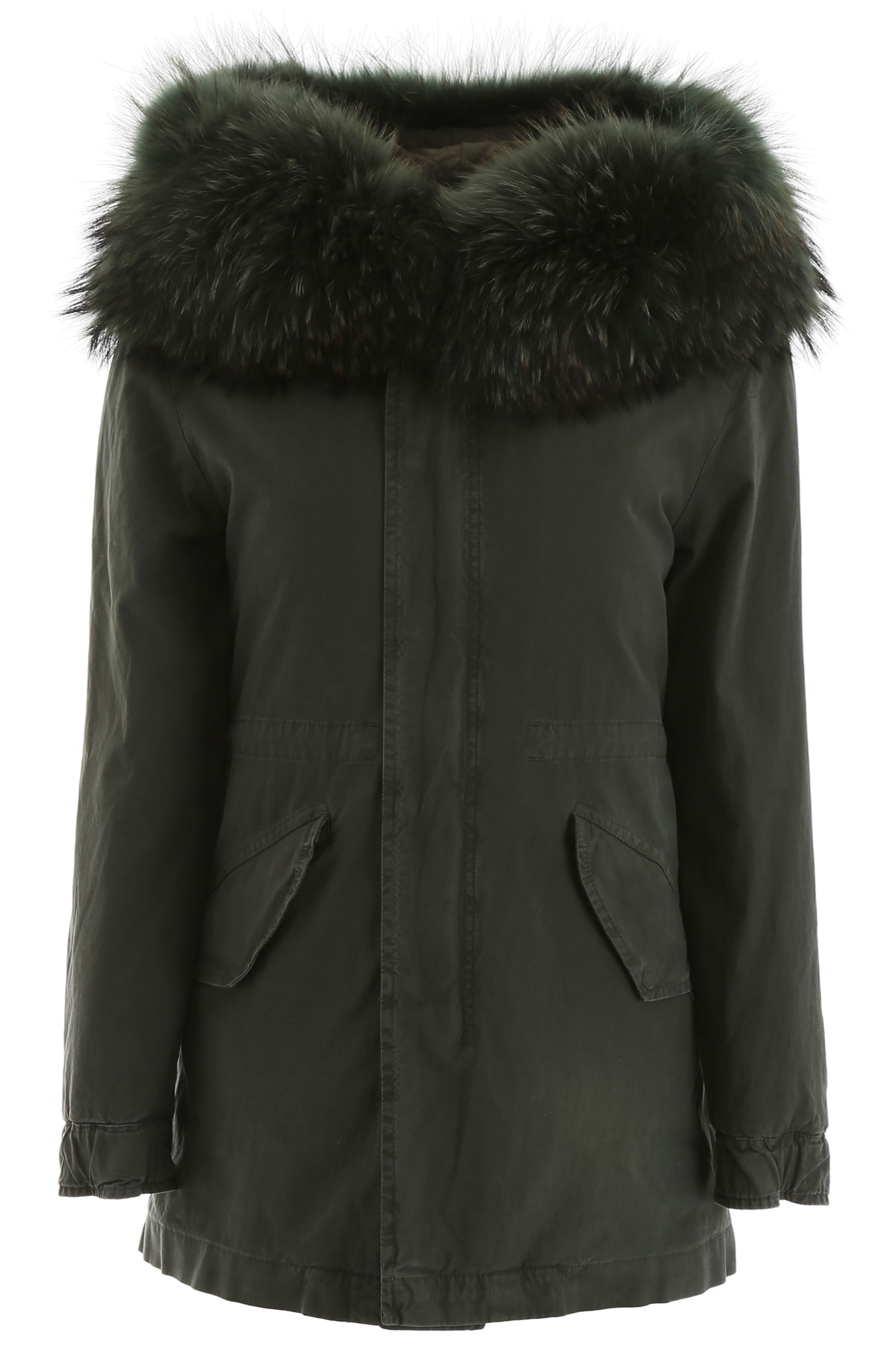 Mr & Mrs Italy Midi Parka With Inside Vest