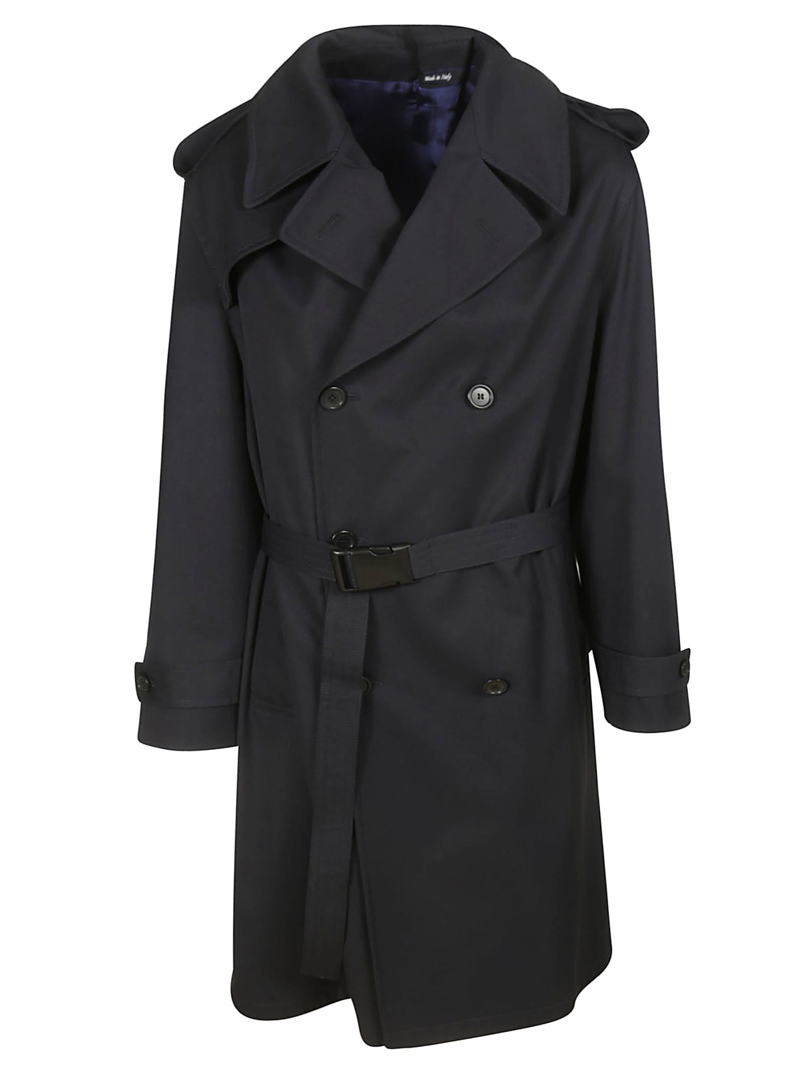 Maison Margiela Double Breasted Belted Trench