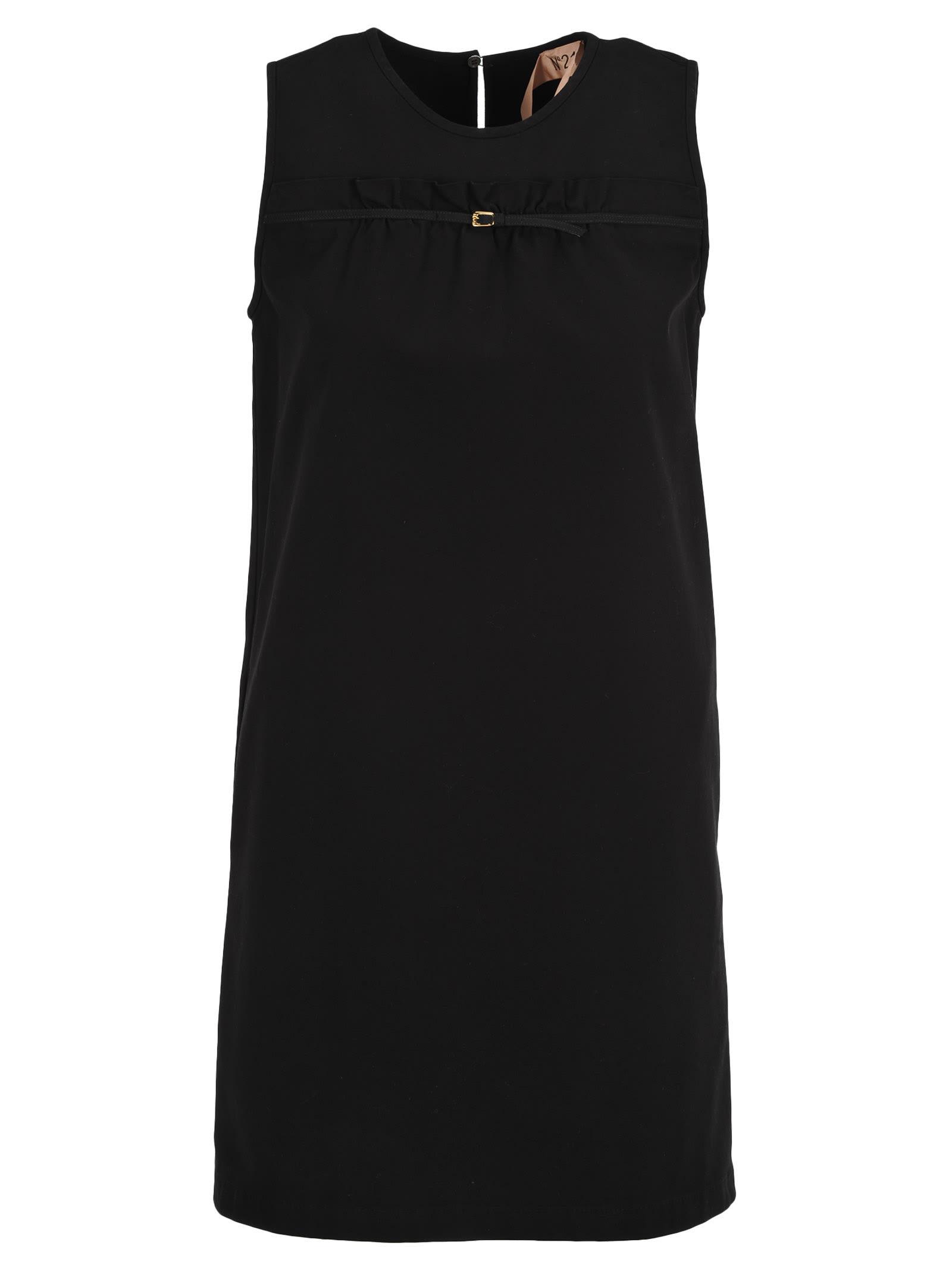 N21 Nº21 Bukle Detail Mini Dress