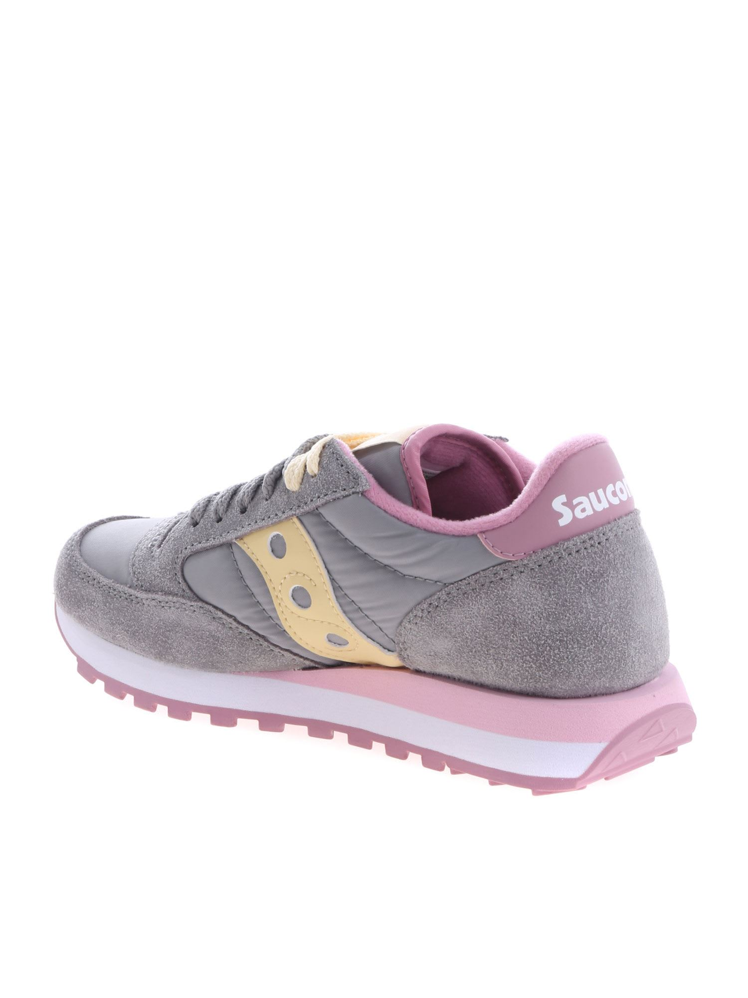 timeless design e9086 17e3b Saucony Saucony Jazz Original Sneakers - Grey/Pink ...