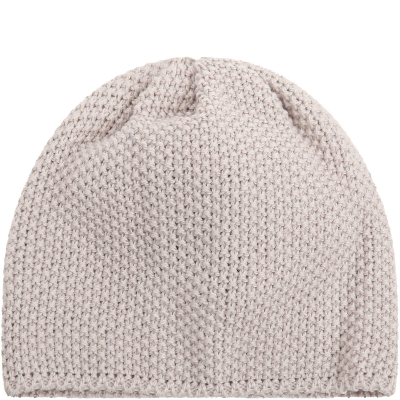 Beige Hat For Babykids